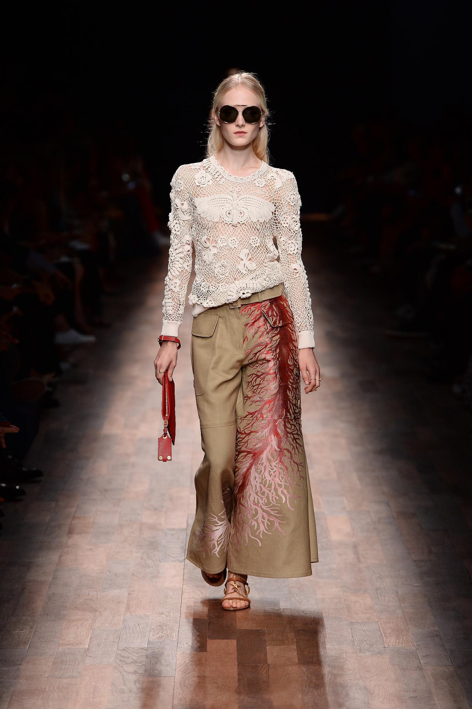 Fashion 2015 Catwalk Valentino