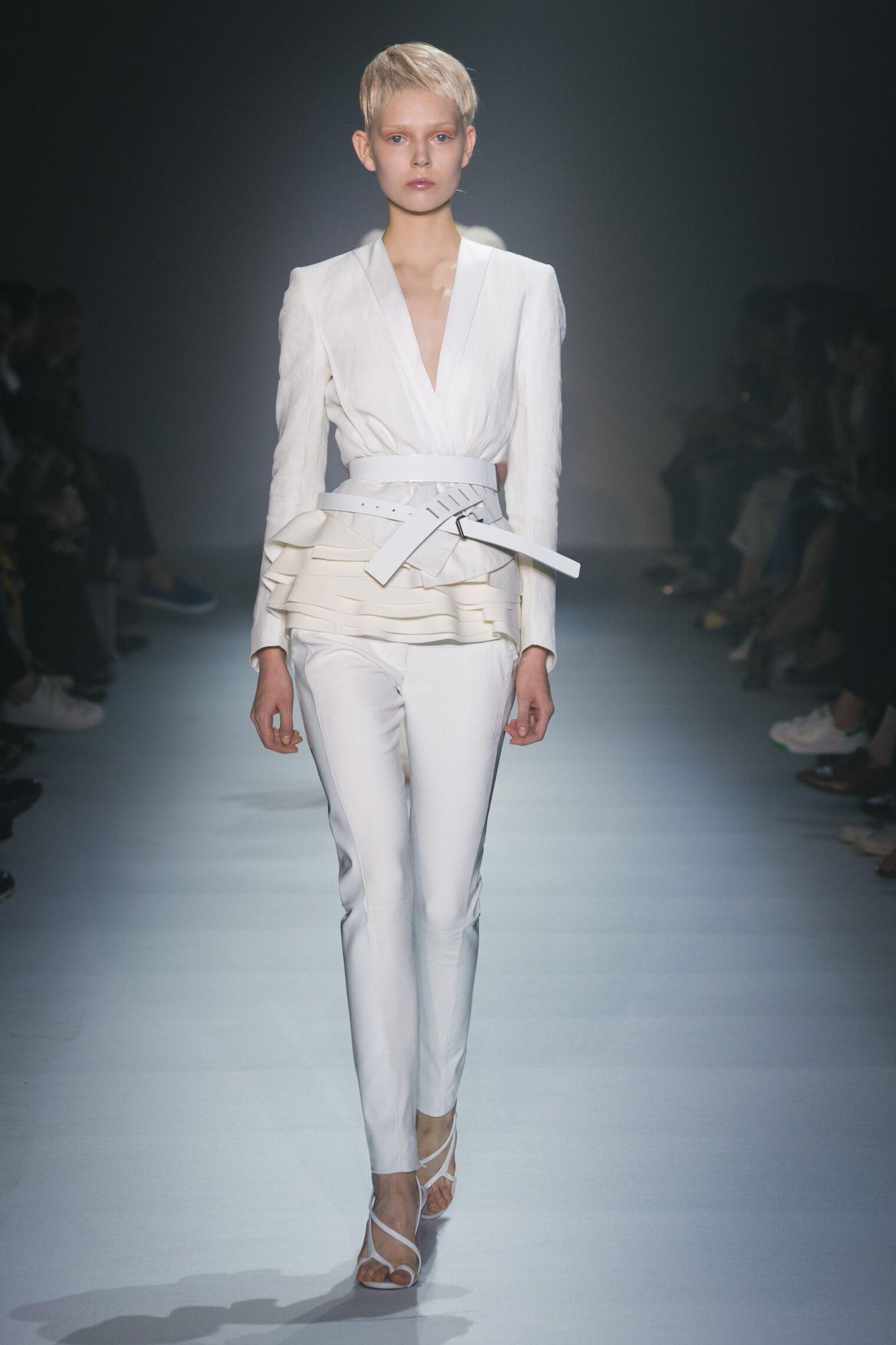 Fashion Model Haider Ackermann Catwalk