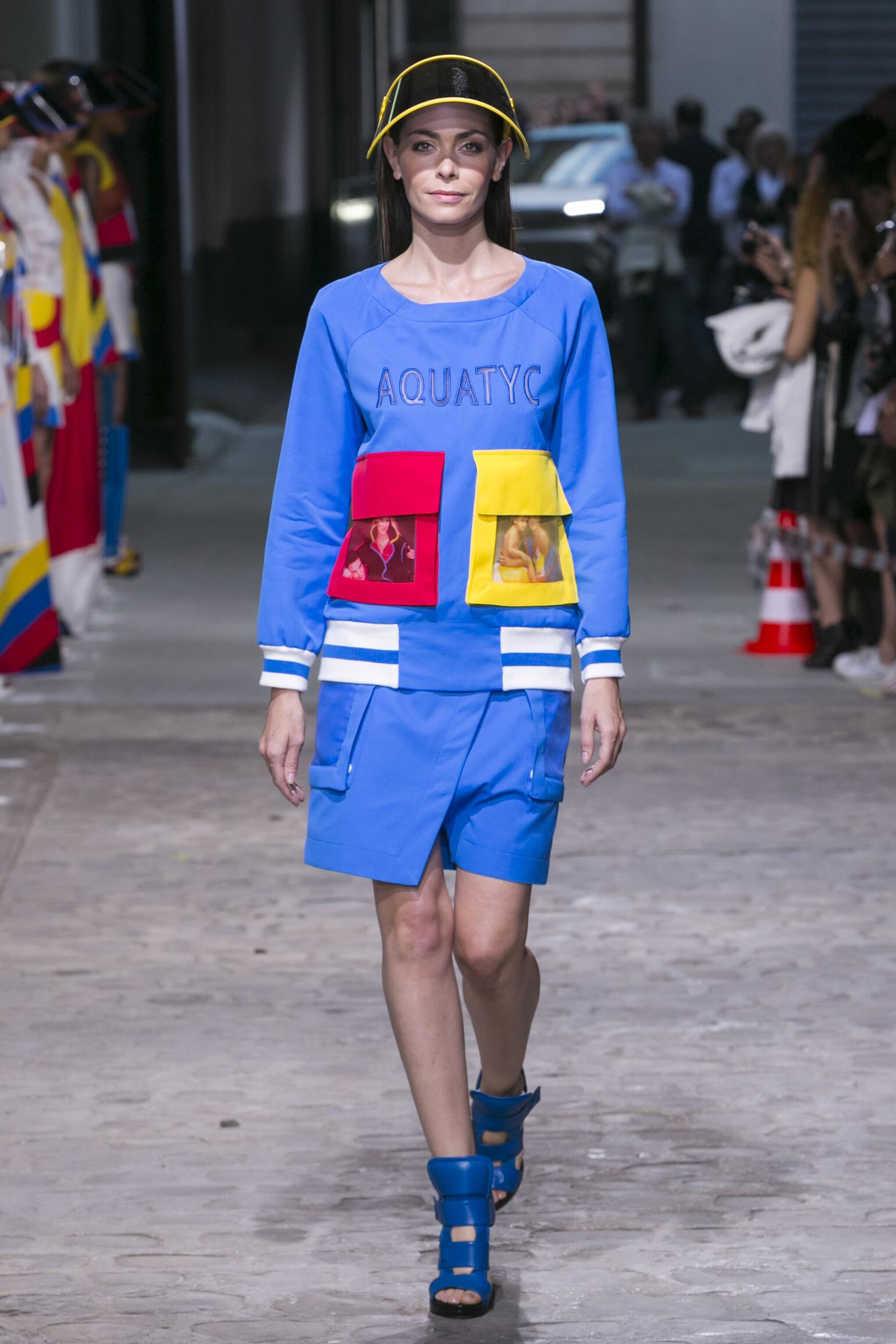 Fashion Model Jean-Charles de Castelbajac Catwalk