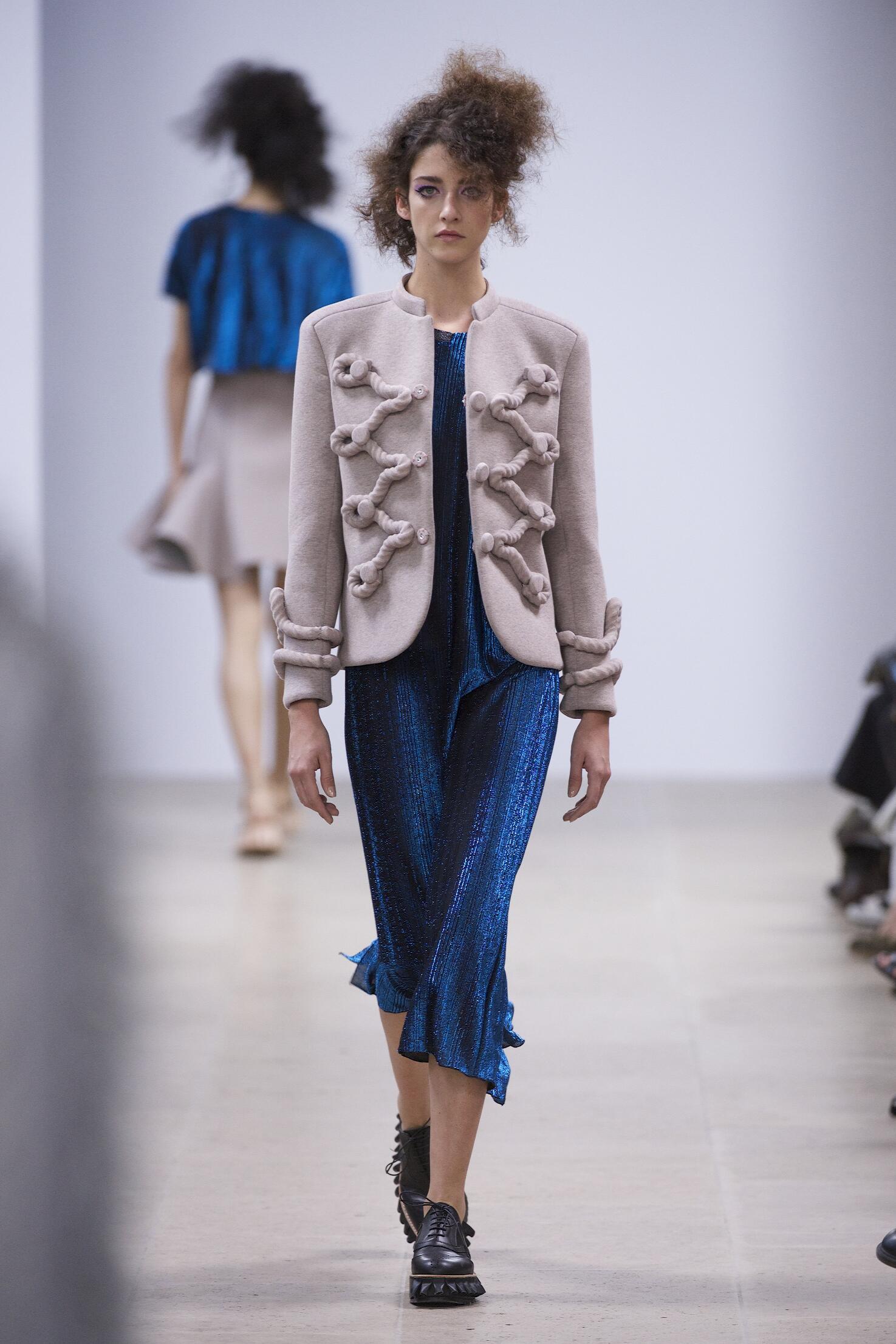Fashion Model Julien David Catwalk