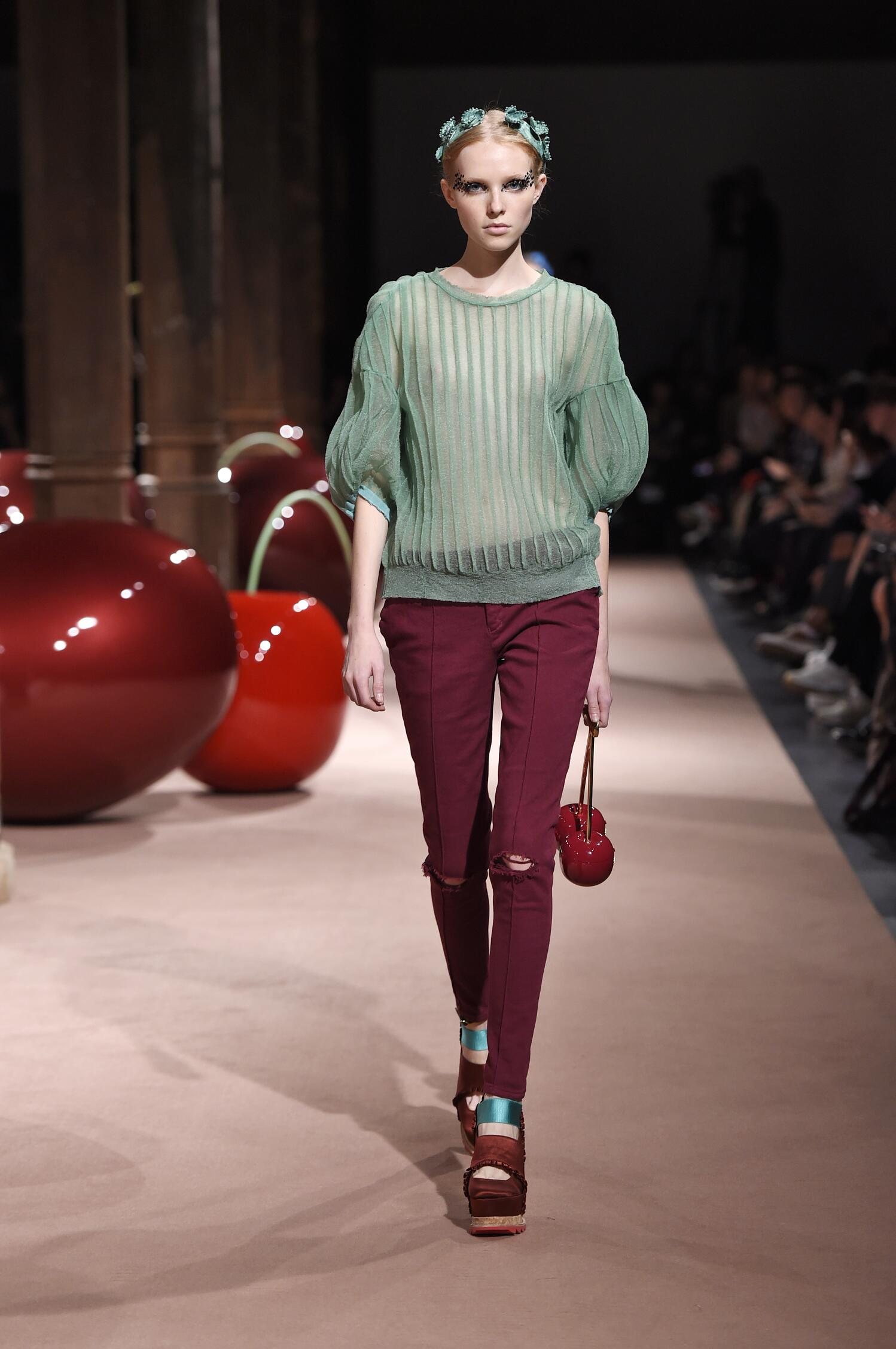 Fashion Model Undercover Catwalk