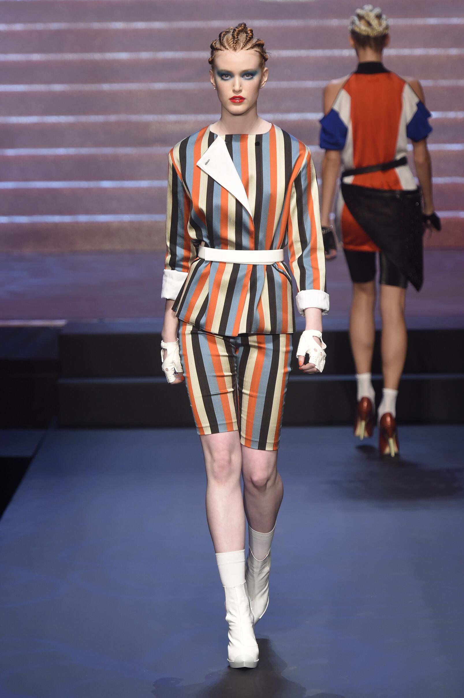 Fashion Woman Model Jean Paul Gaultier Catwalk