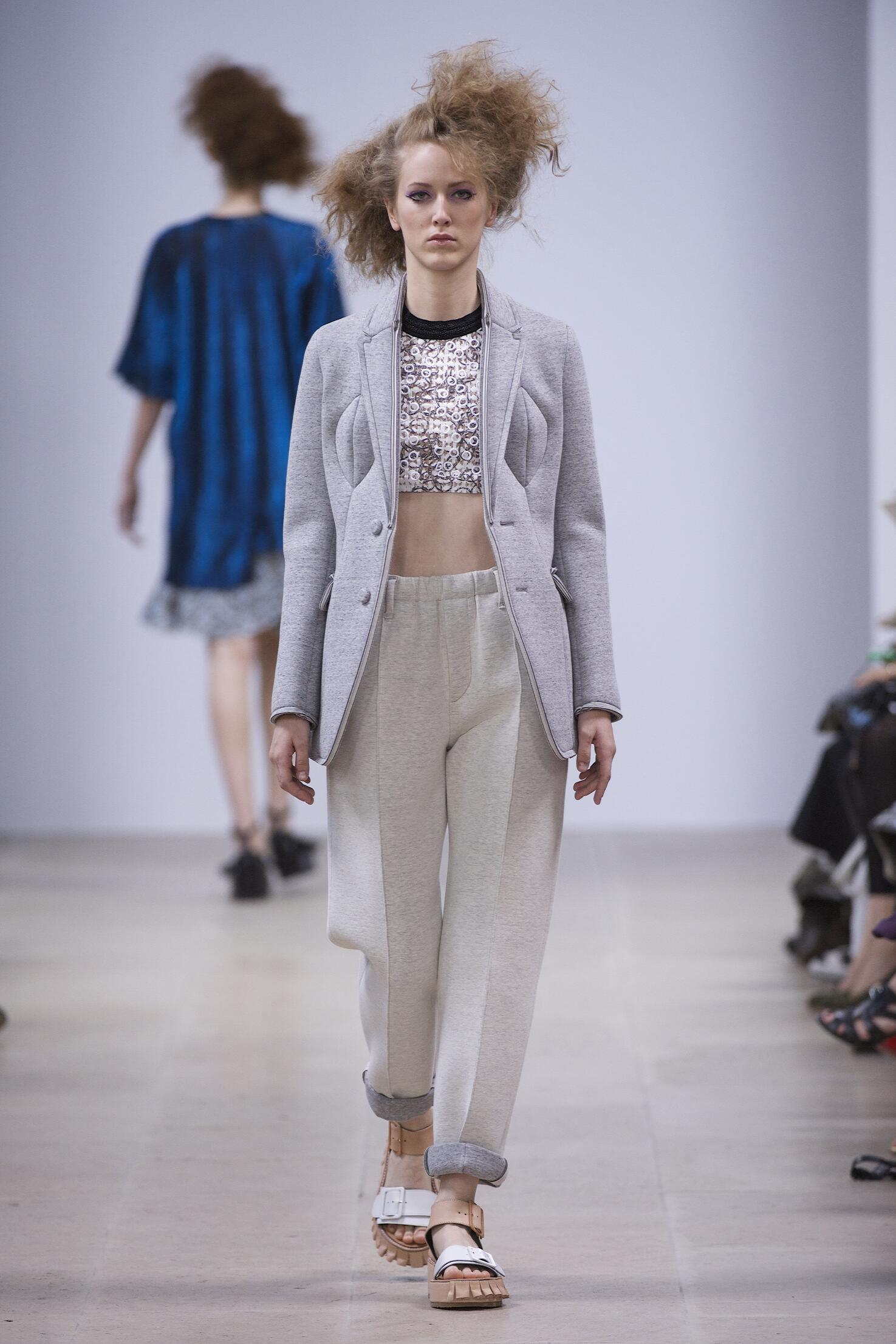 Fashion Woman Model Julien David Catwalk