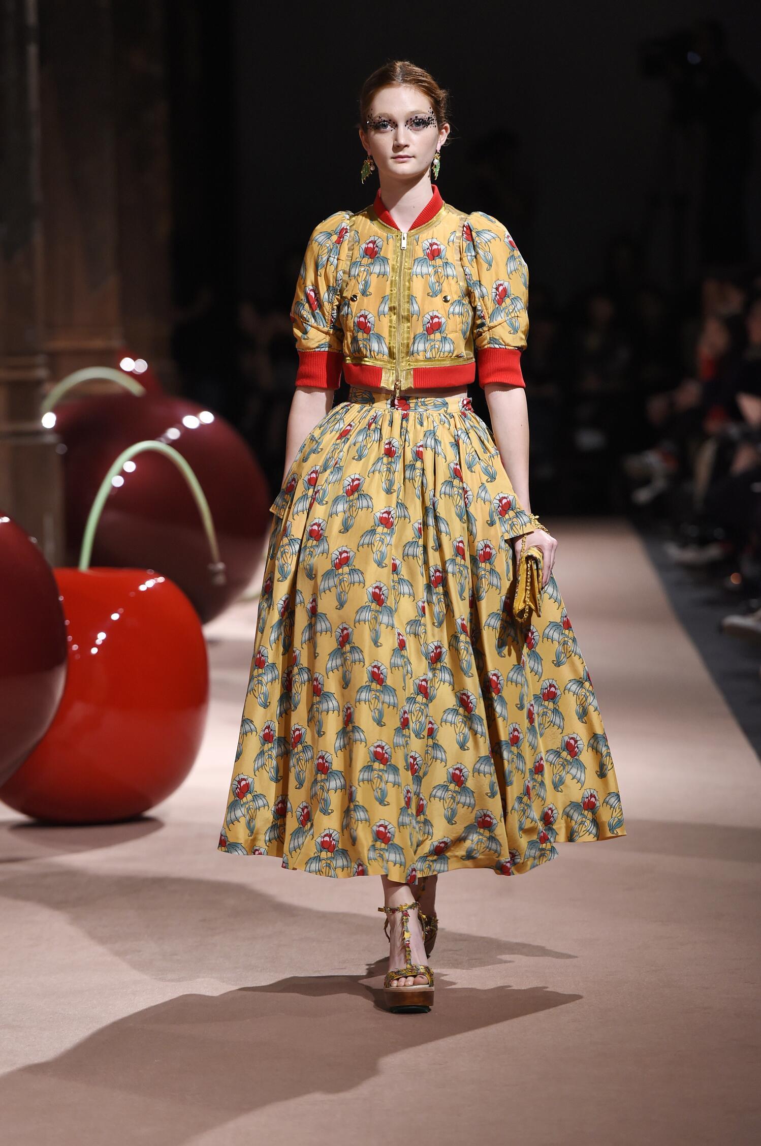 Fashion Woman Model Undercover Catwalk