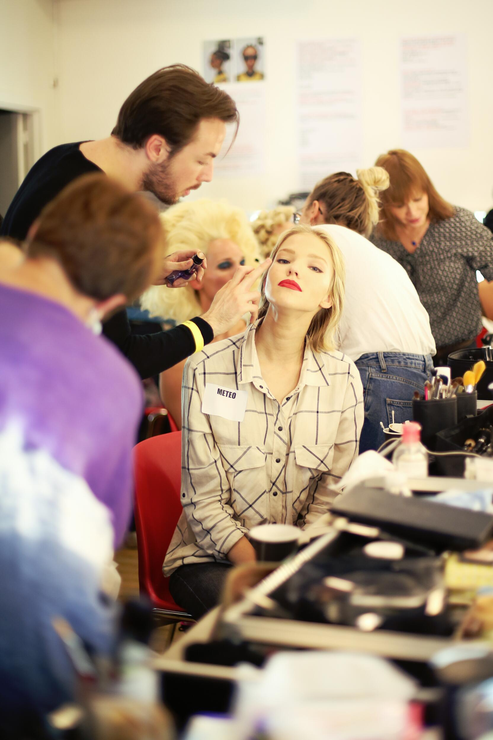 Jean Paul Gaultier Backstage 2014 Make Up