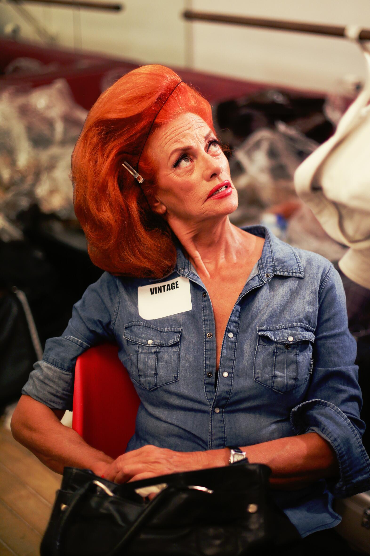 Jean Paul Gaultier Backstage Fashion Model Hair Style