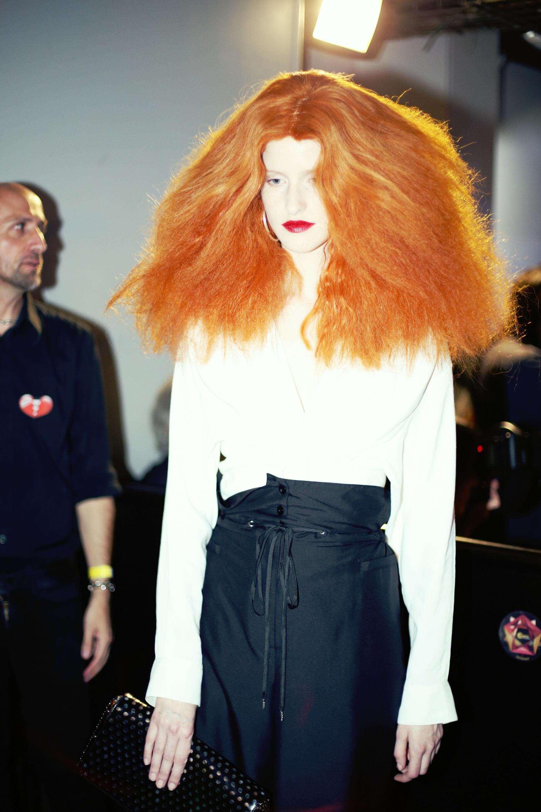 Jean Paul Gaultier Model Backstage