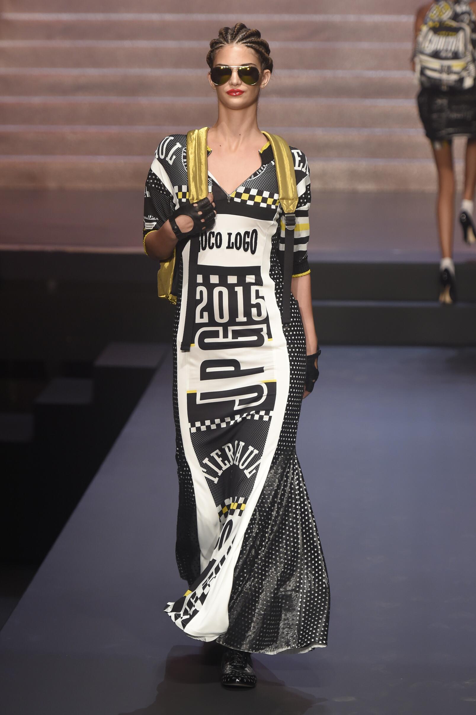 Jean Paul Gaultier Spring 2015 Catwalk