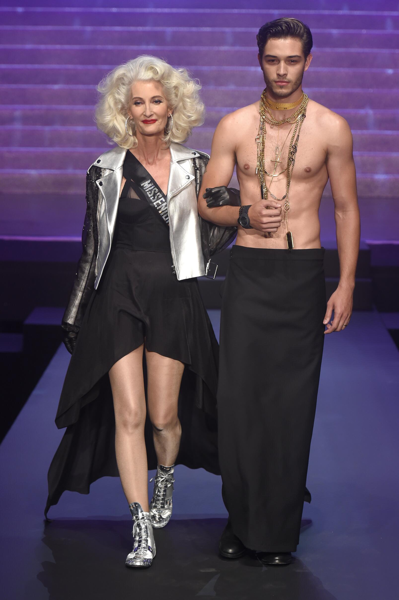 Jean Paul Gaultier Spring Summer 2015 Paris