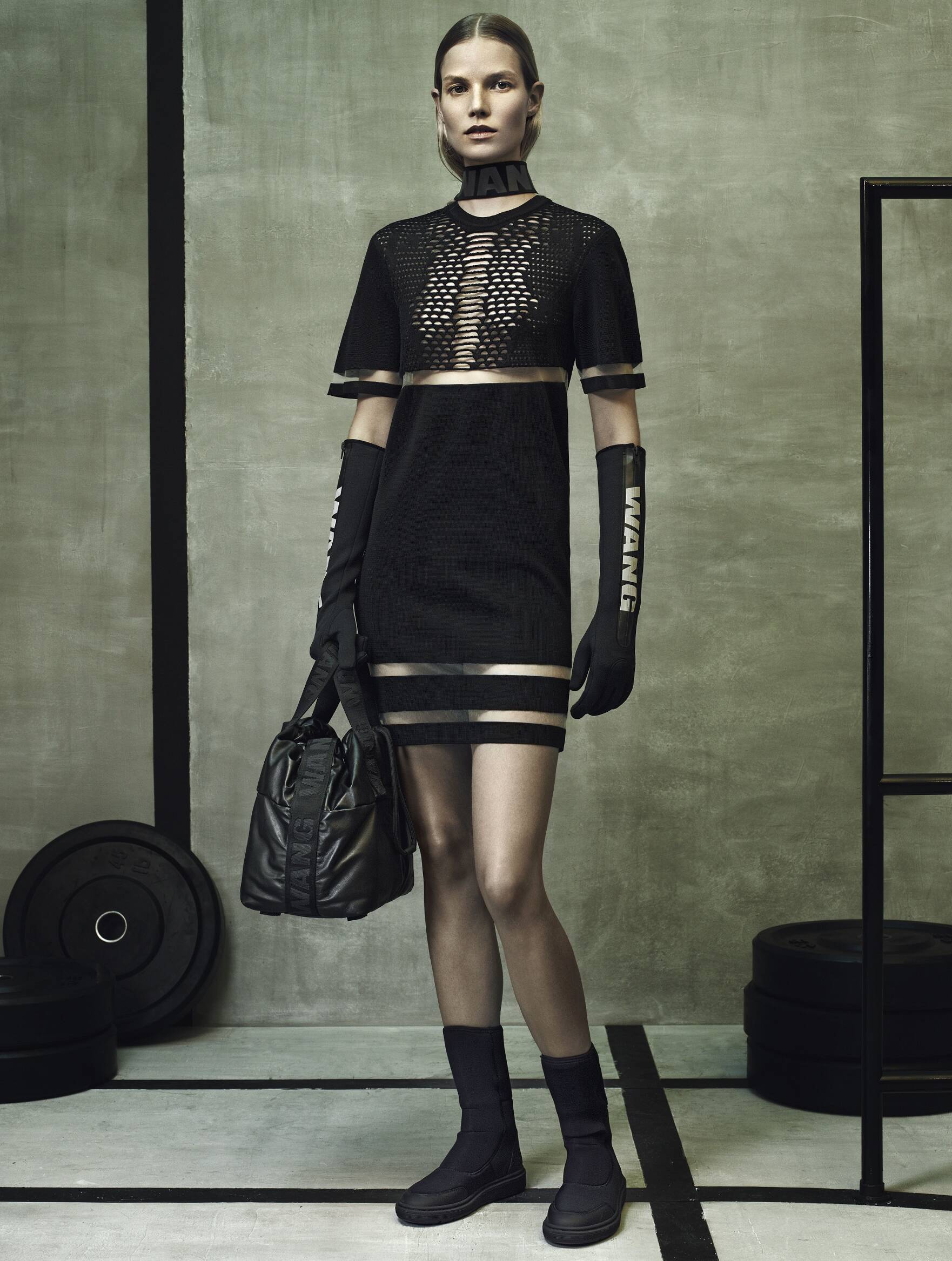 Model Alexander Wang for H&M