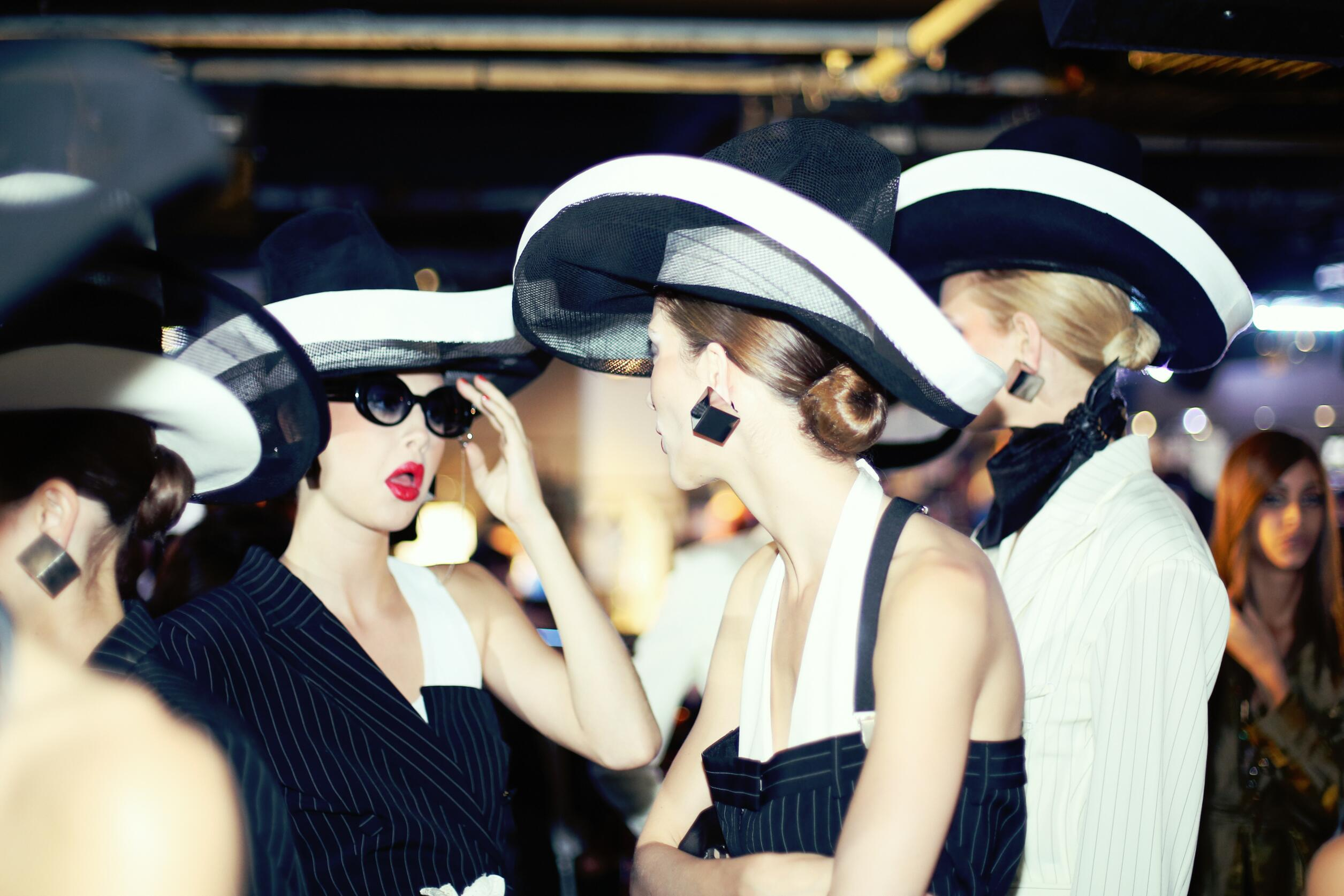 Models Backstage Jean Paul Gaultier