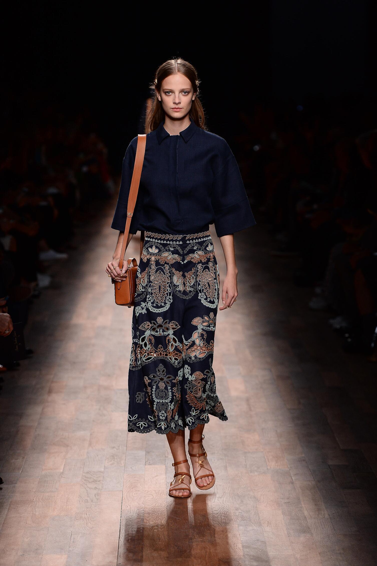 Models Fashion Show Valentino