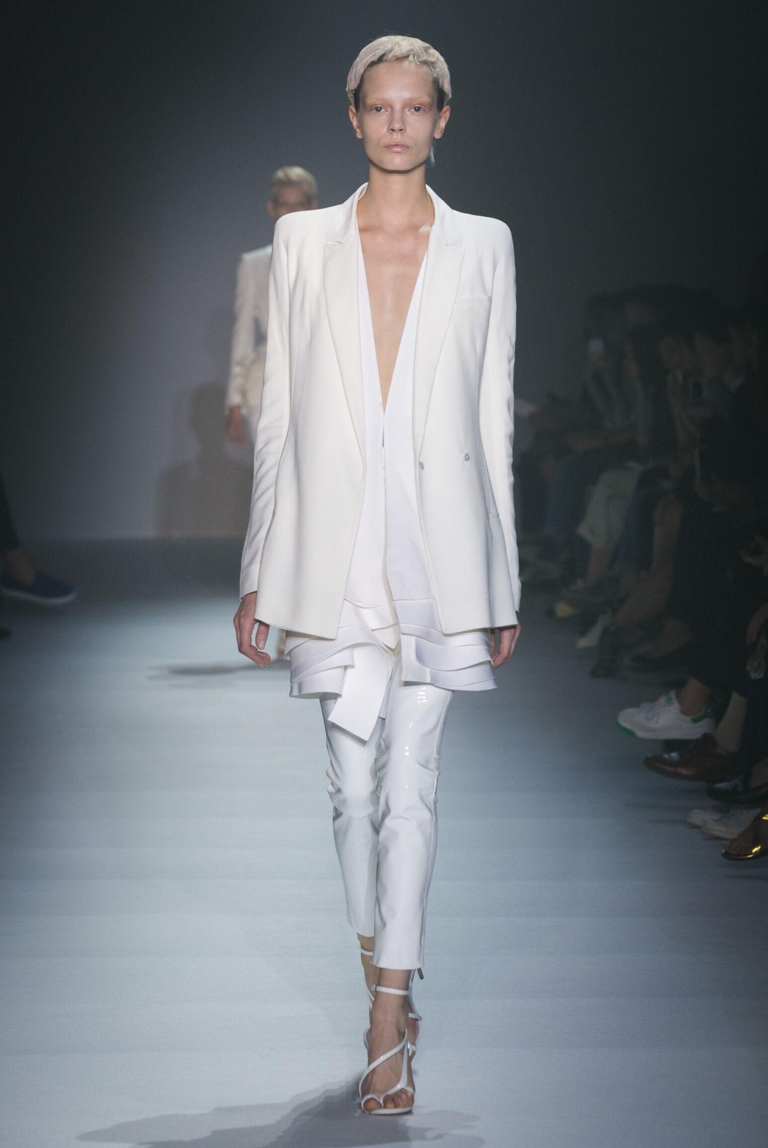Runway Haider Ackermann Spring Summer 2015 Women's Collection Paris Fashion Week