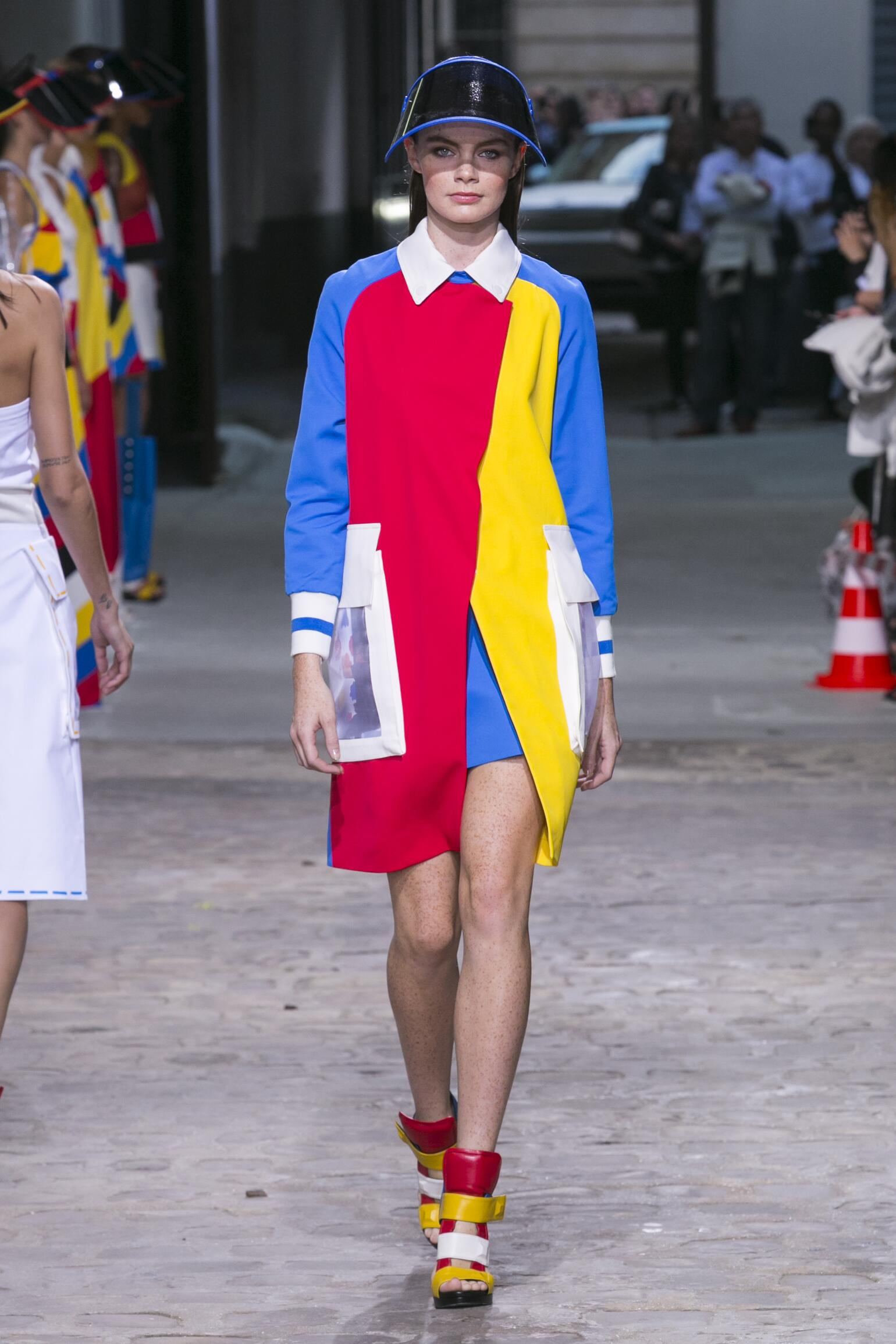 Runway Jean-Charles de Castelbajac Spring Summer 2015 Women's Collection Paris Fashion Week