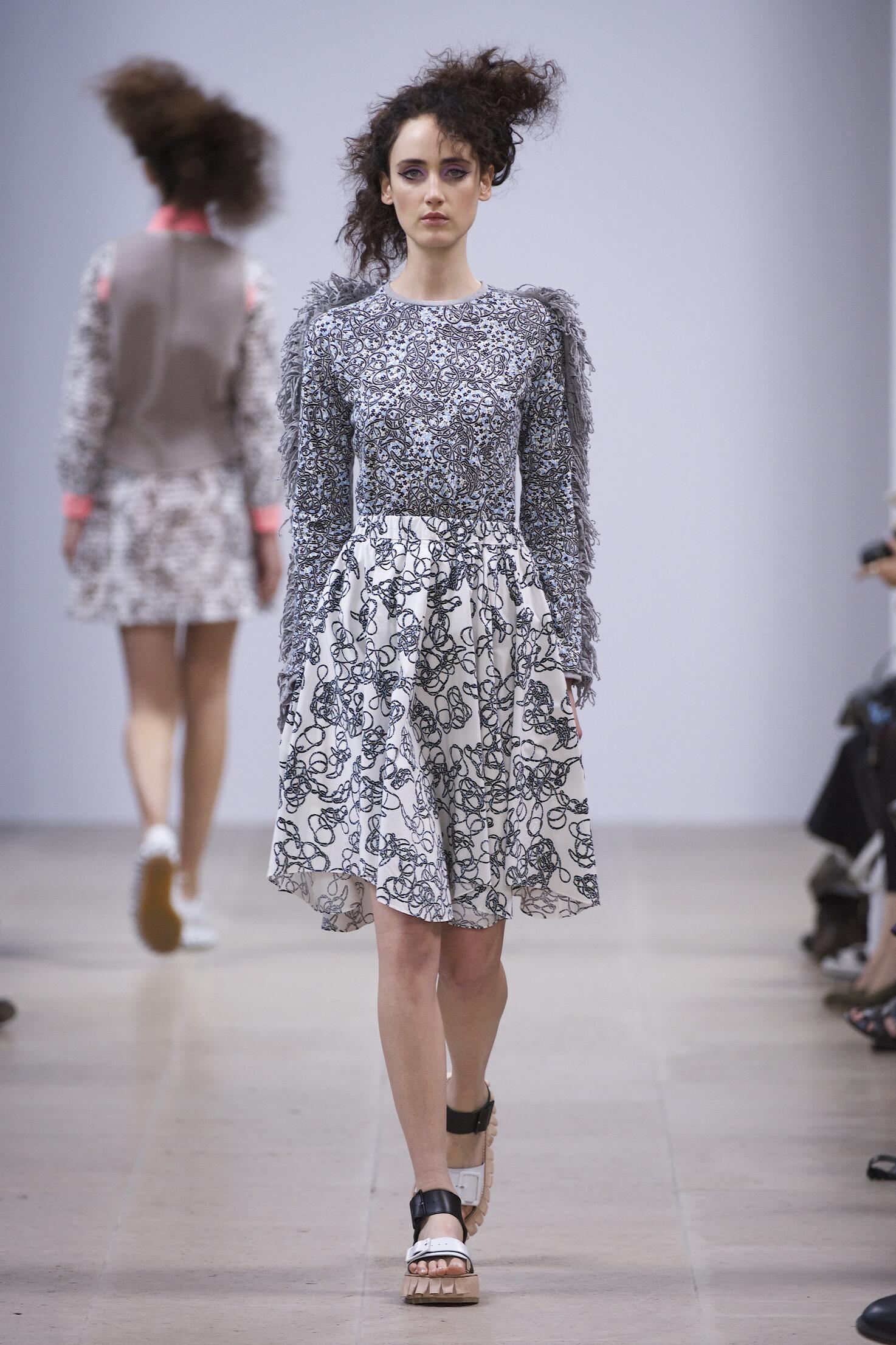 Runway Julien David Spring Summer 2015 Women's Collection Paris Fashion Week
