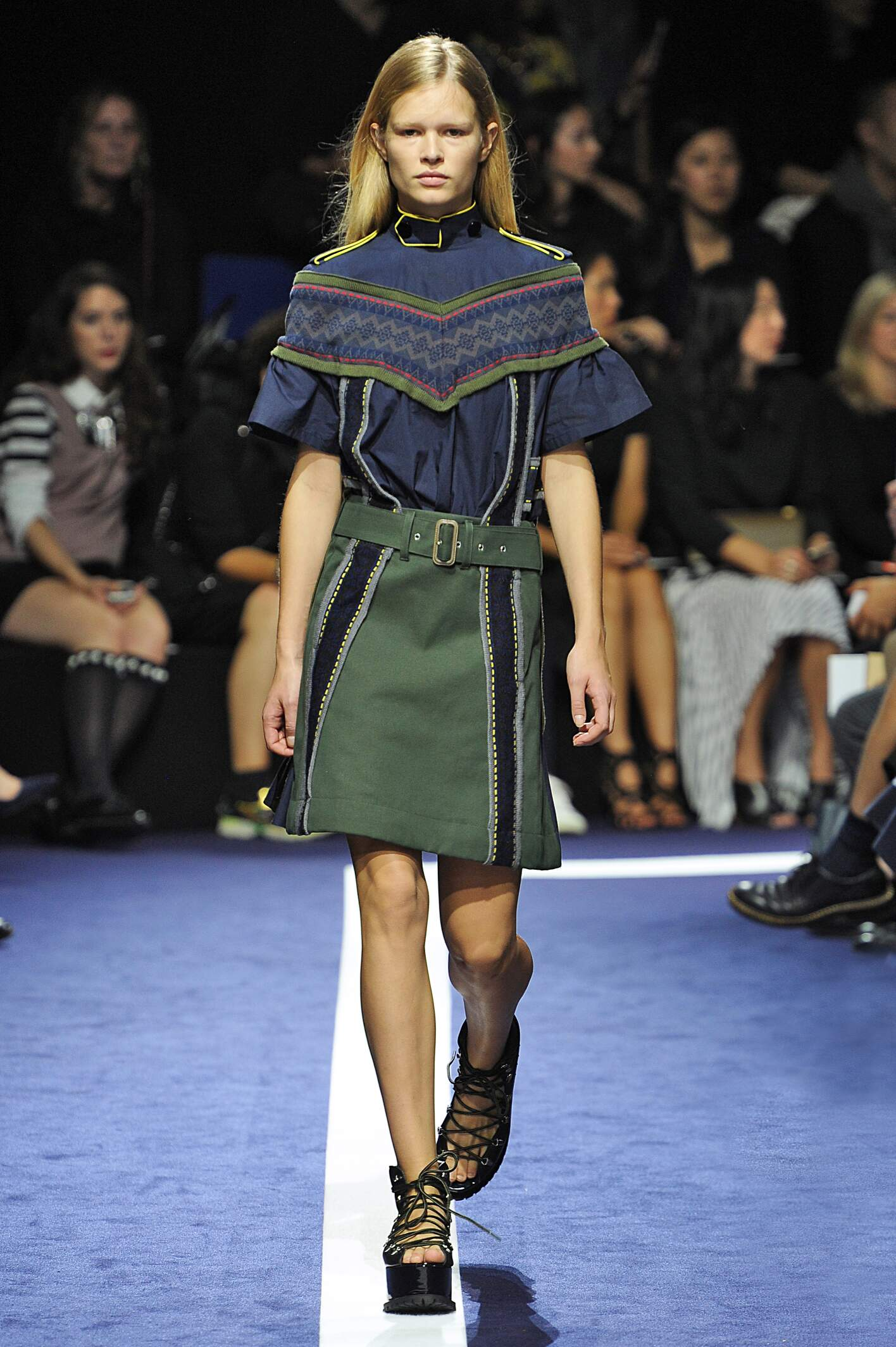 Runway Sacai Spring Summer 2015 Women's Collection Paris Fashion Week