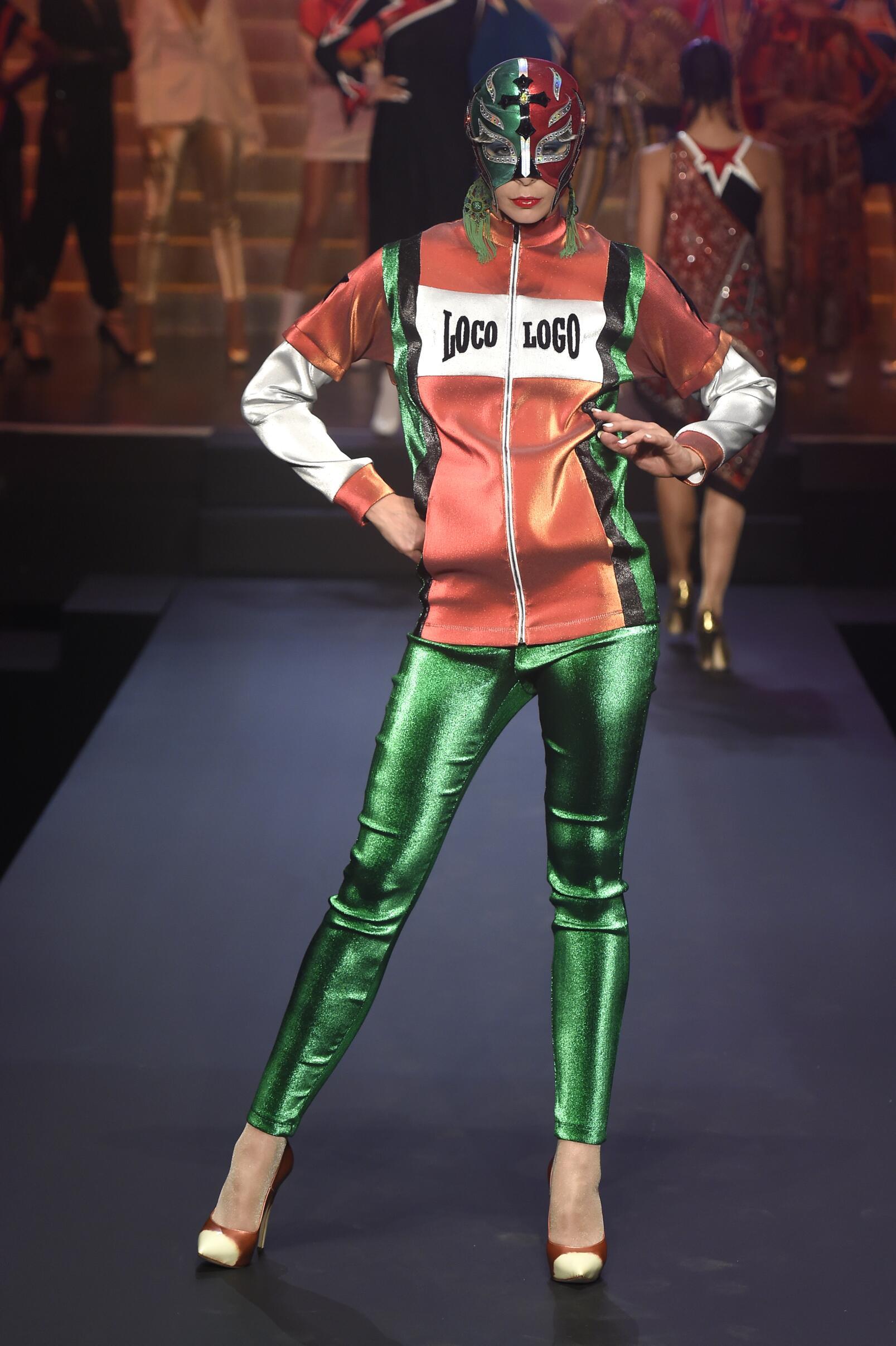 SS 2015 Jean Paul Gaultier Fashion Show Womenswear Paris