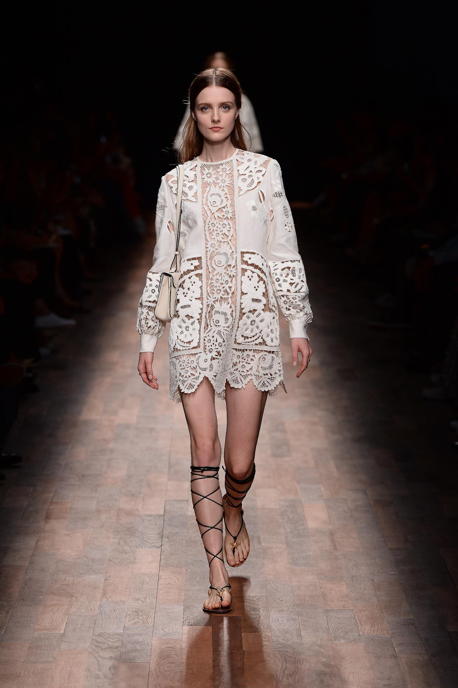 SS 2015 Valentino Fashion Model