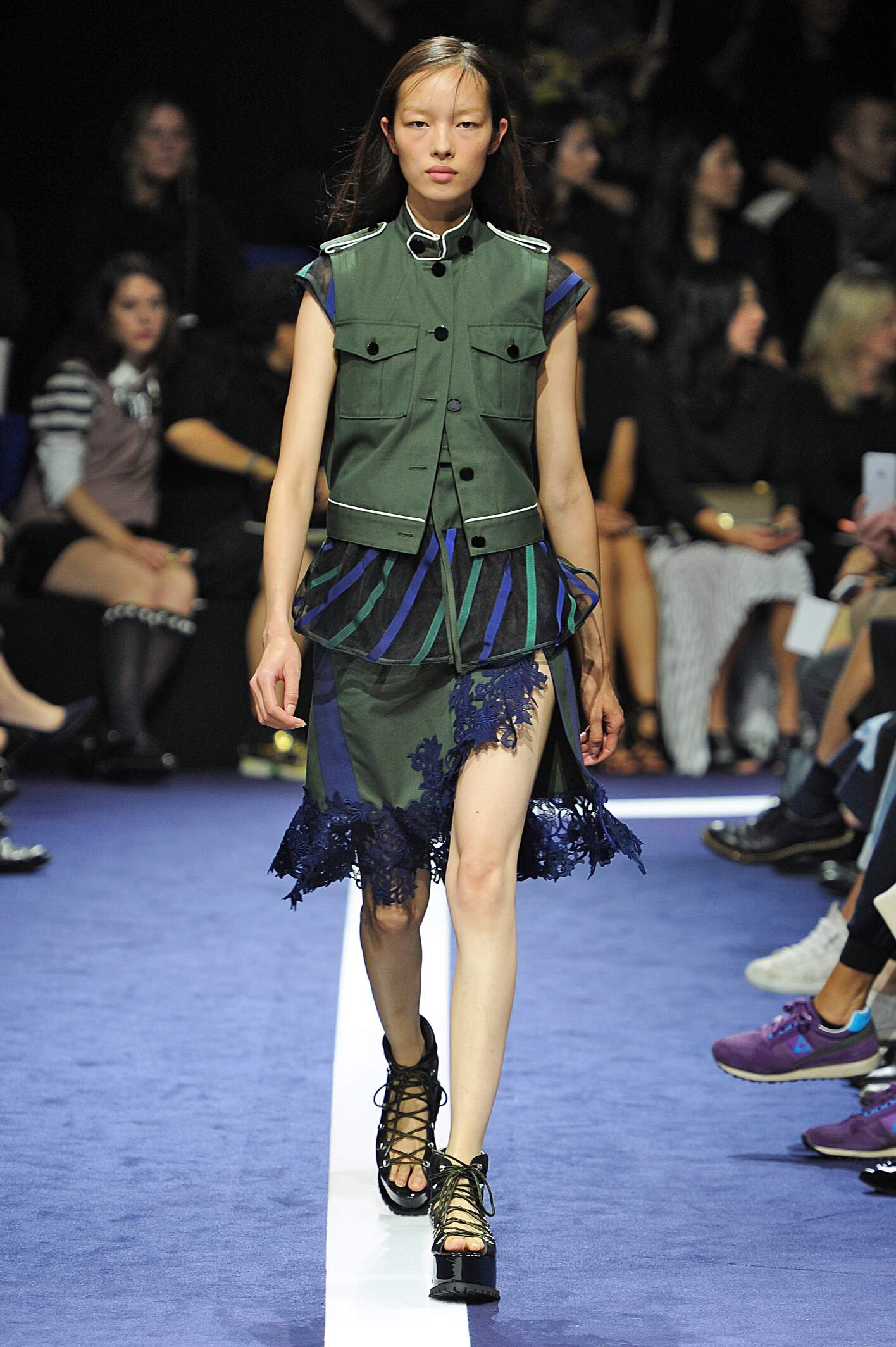 Sacai Spring Summer 2015 Women S Collection The Skinny Beep
