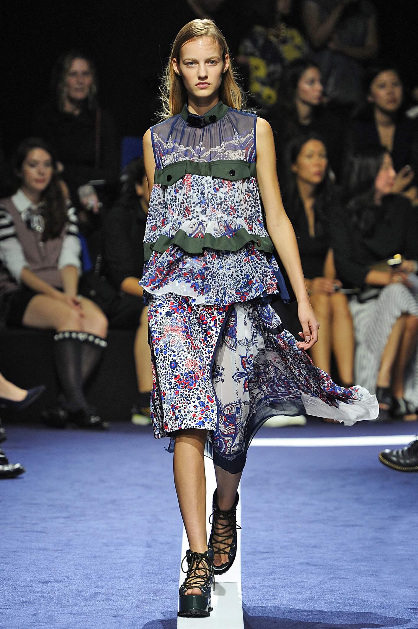 Sacai Woman Paris Fashion Week