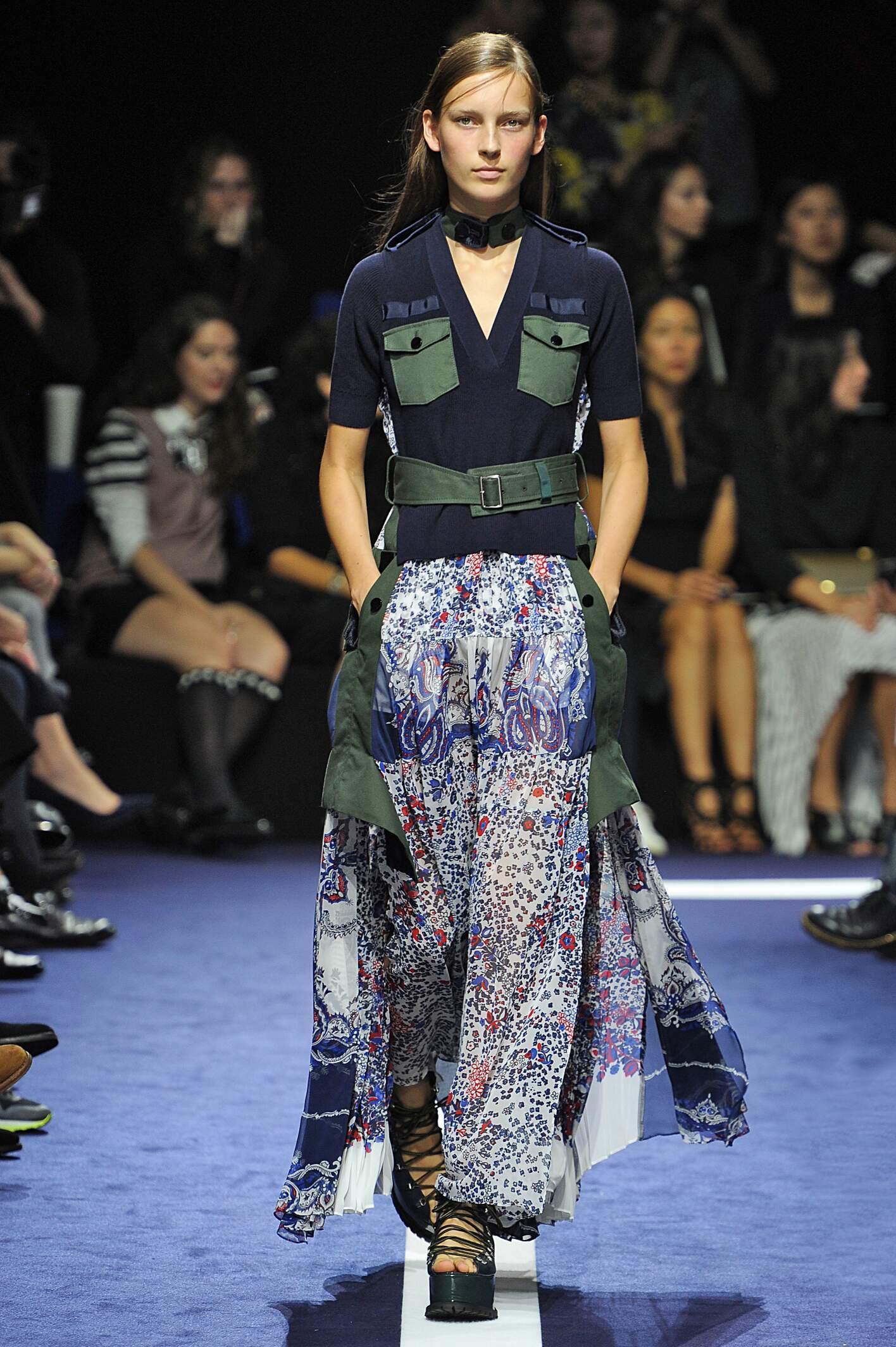Spring 2015 Woman Fashion Show Sacai