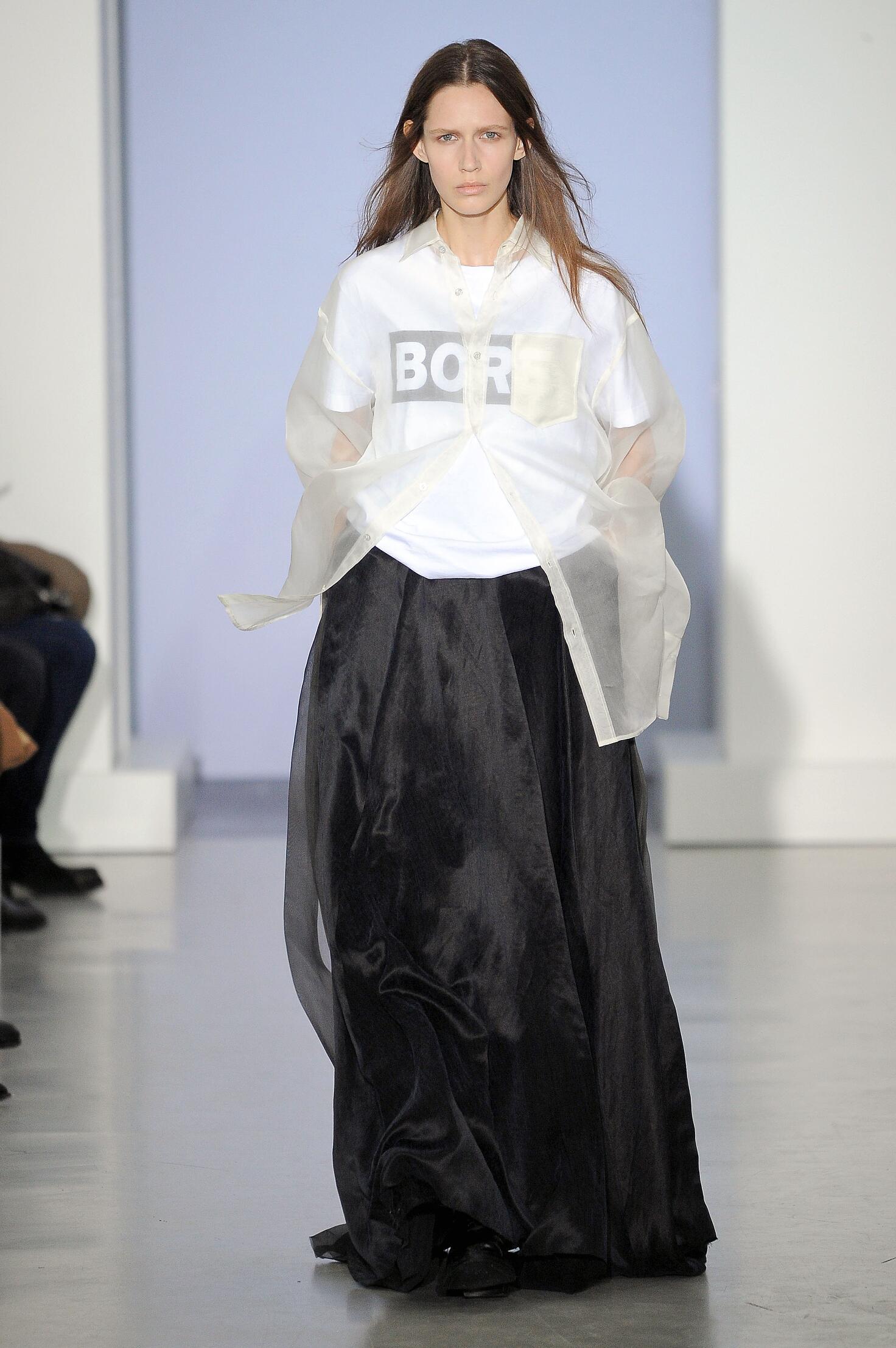 Spring 2015 Woman Fashion Show Yang Li