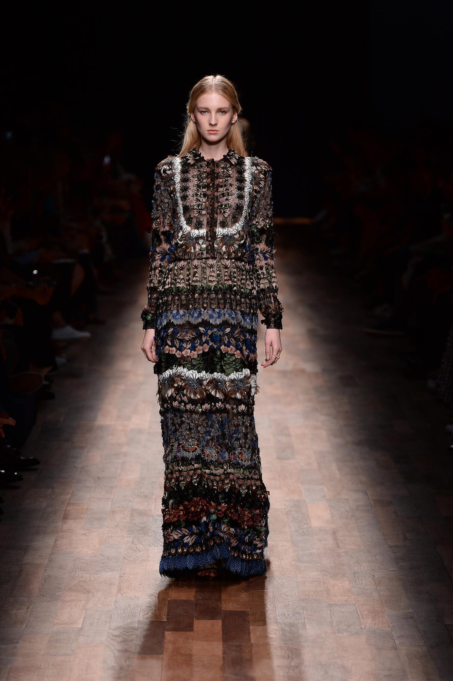 Spring Fashion 2015 Valentino Paris