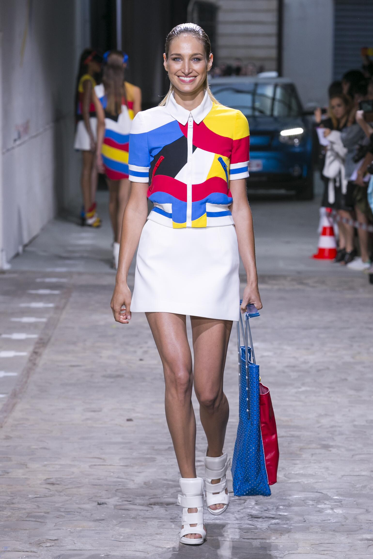 Spring Summer 2015 Fashion Model Jean-Charles de Castelbajac