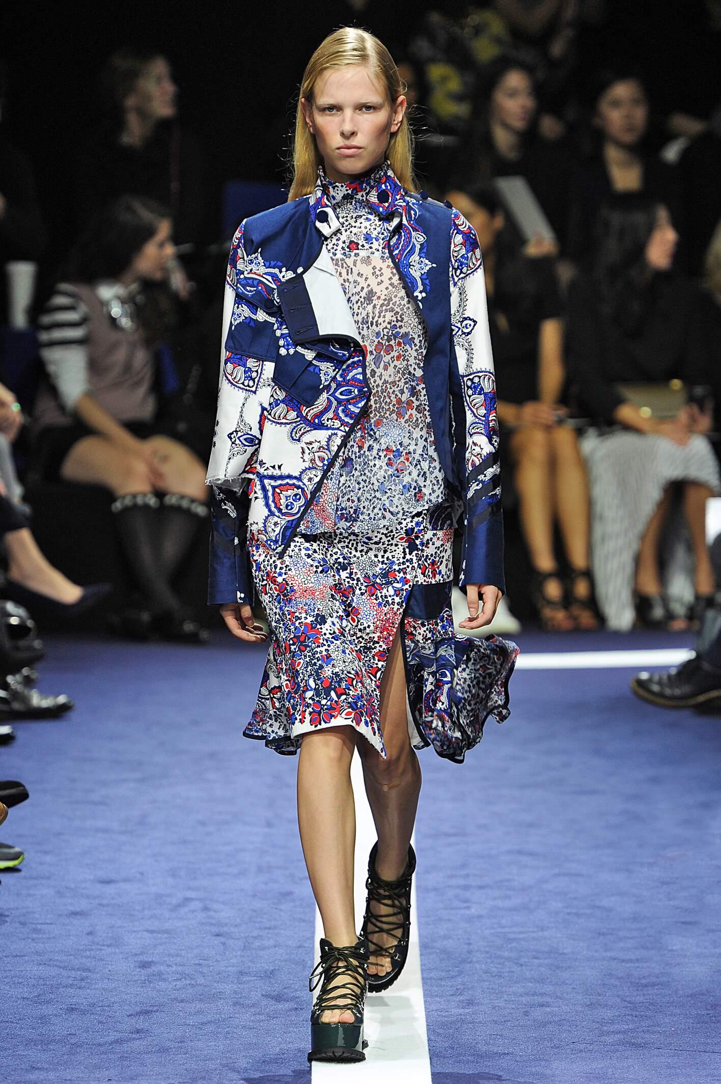 Spring Summer 2015 Fashion Model Sacai