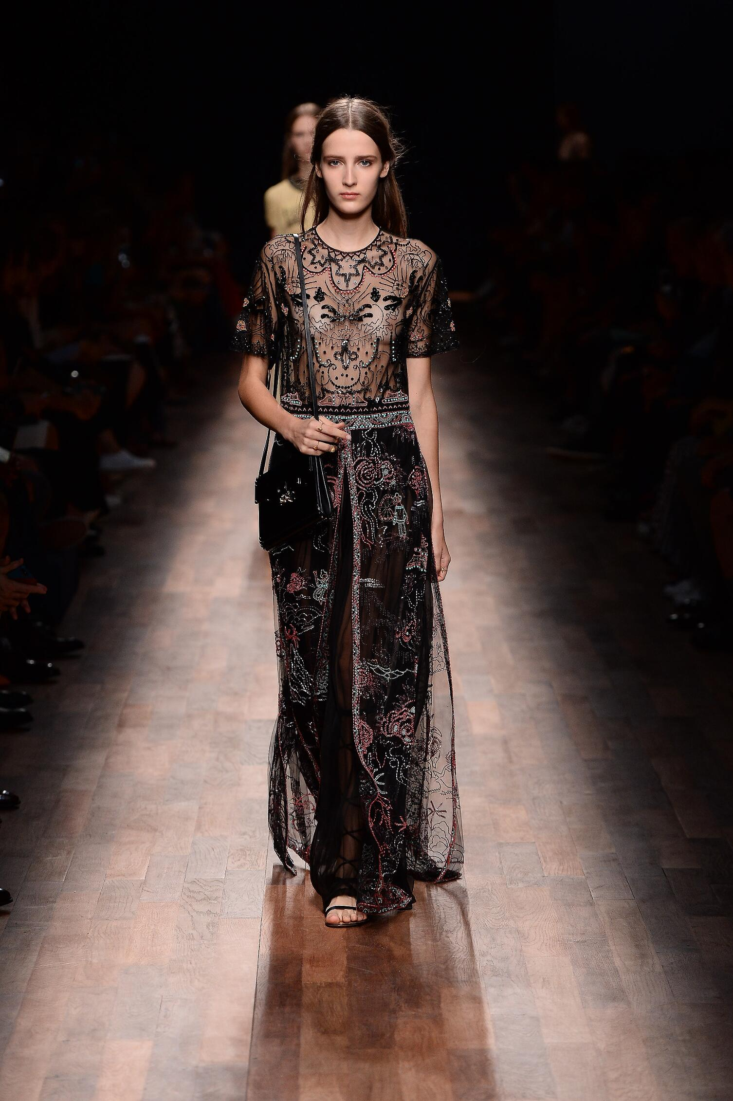 Spring Summer 2015 Womens Valentino Collection Paris