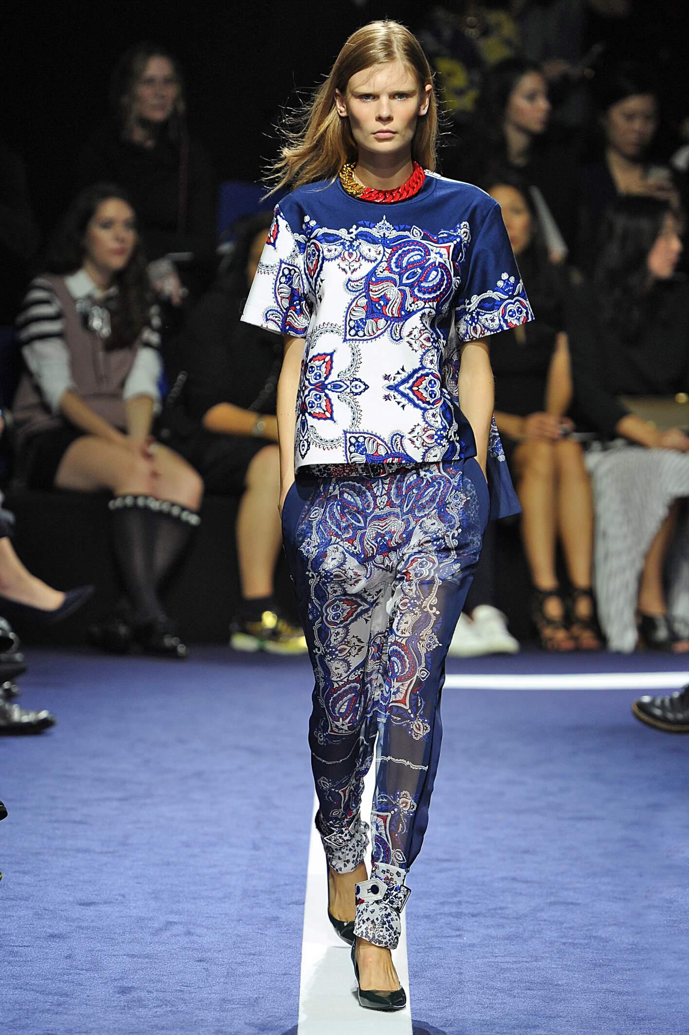 Summer 2015 Fashion Show Sacai