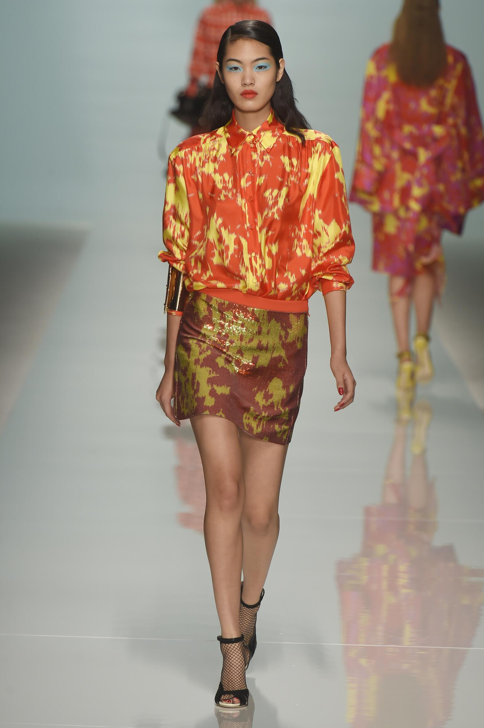 Summer Fashion Trends 2015 Emanuel Ungaro