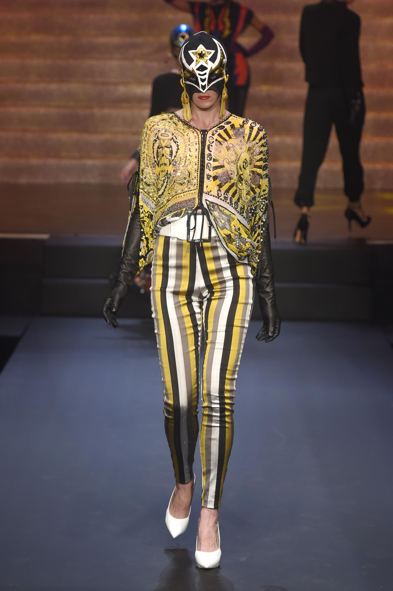Summer Jean Paul Gaultier Trends 2015 Woman Paris