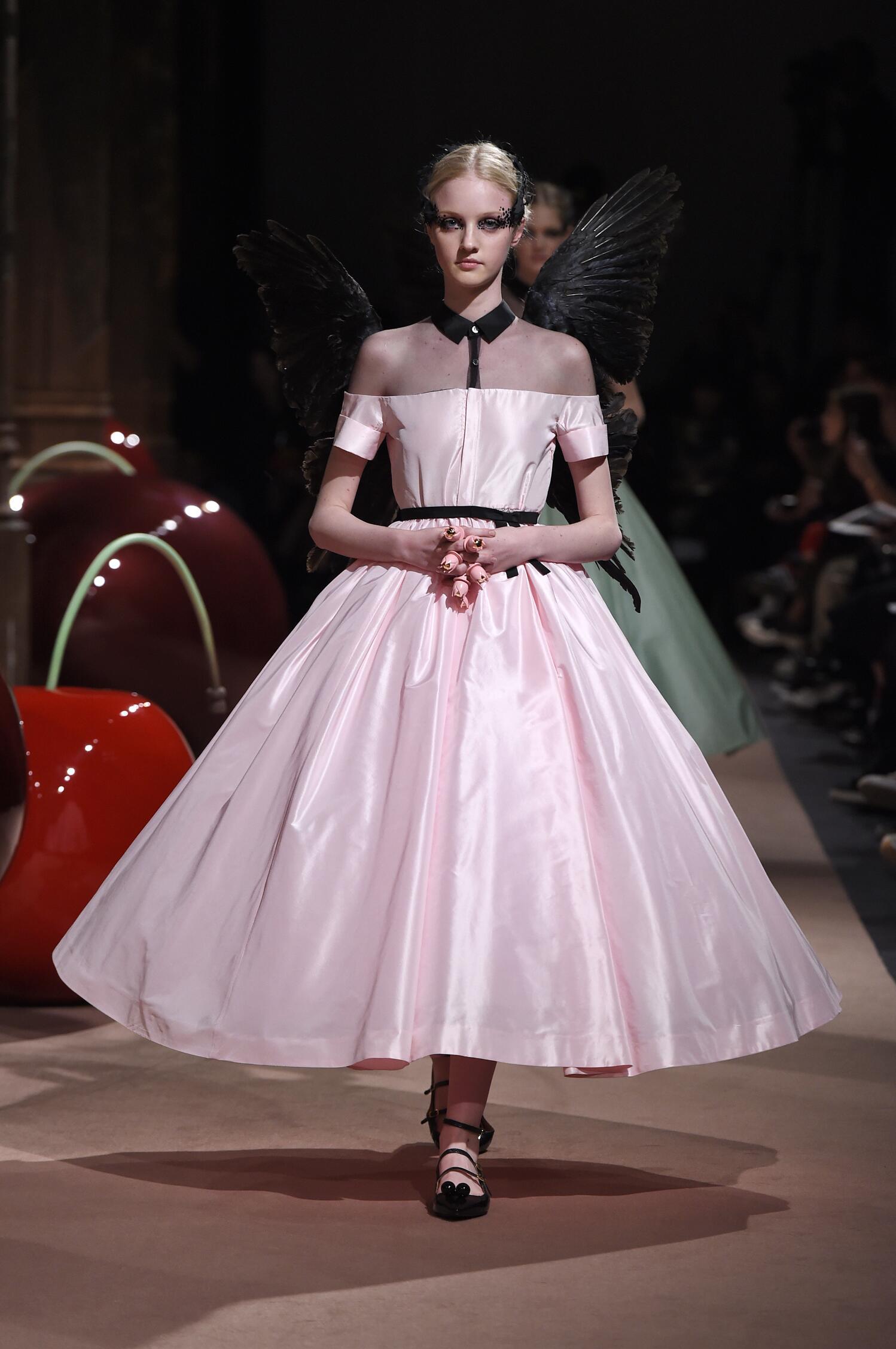 Undercover Woman Paris Fashion Week