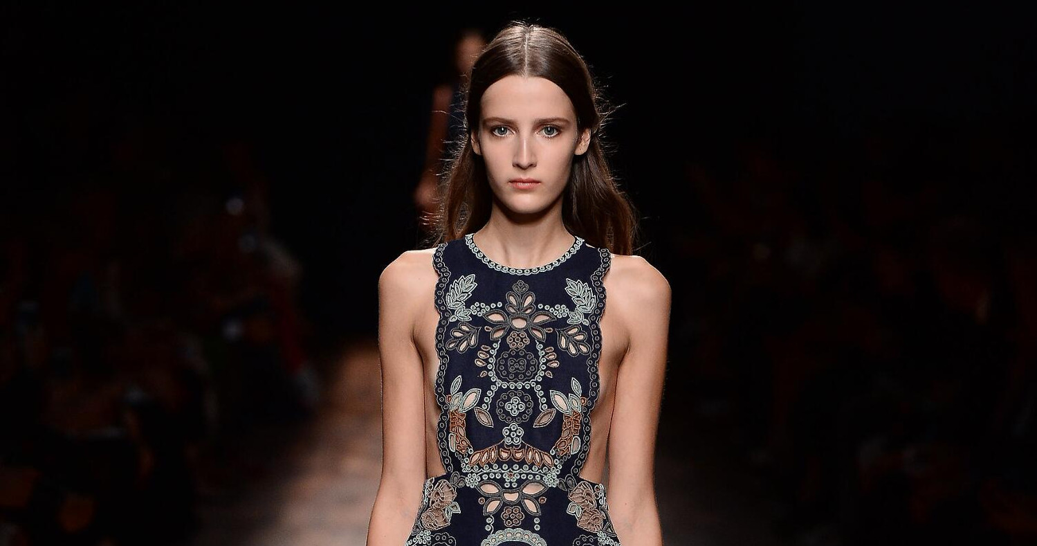 Valentino Fashion Show SS 2015 Paris