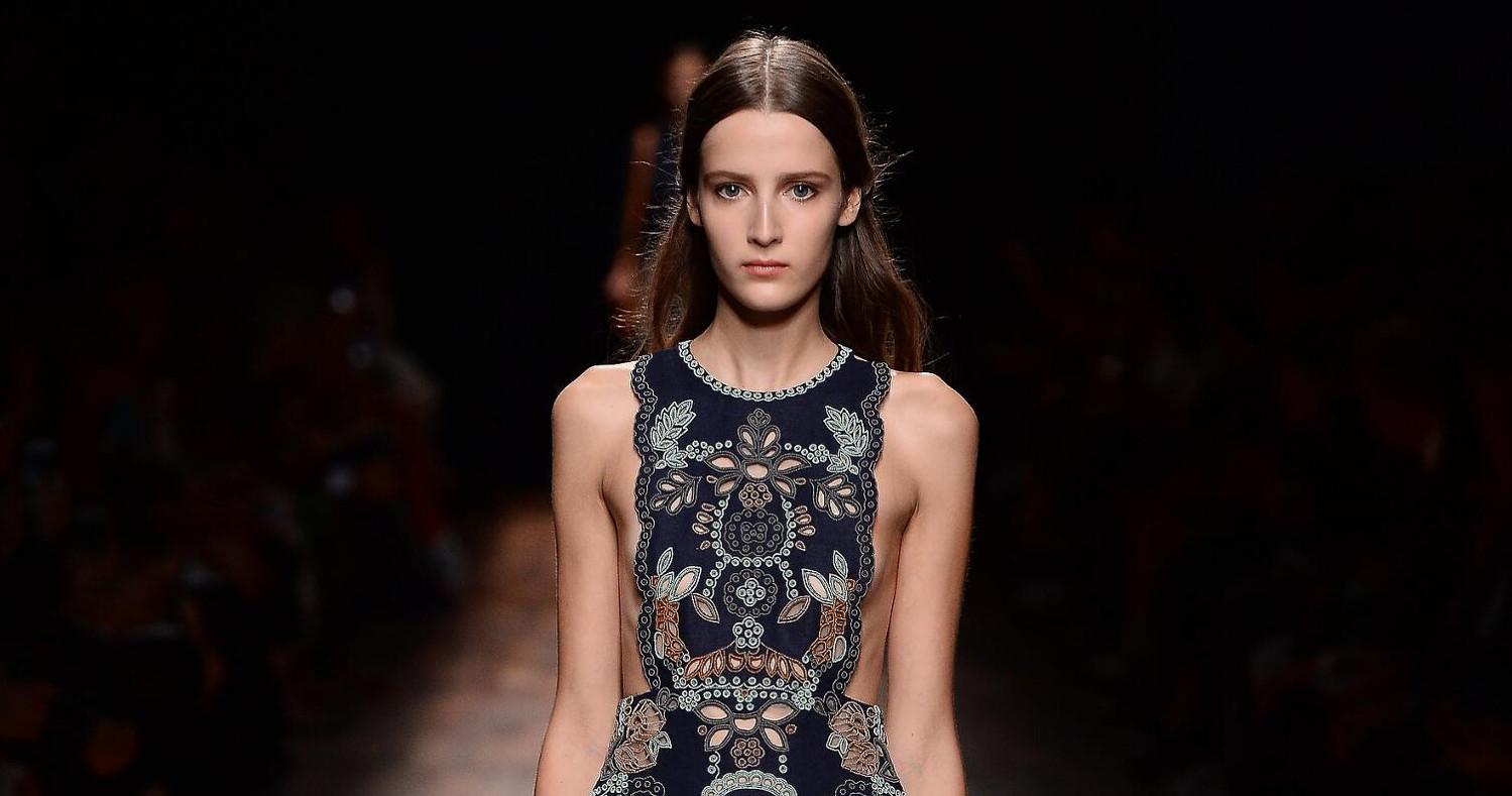 Valentino Fashion Show SS 2015 Paris