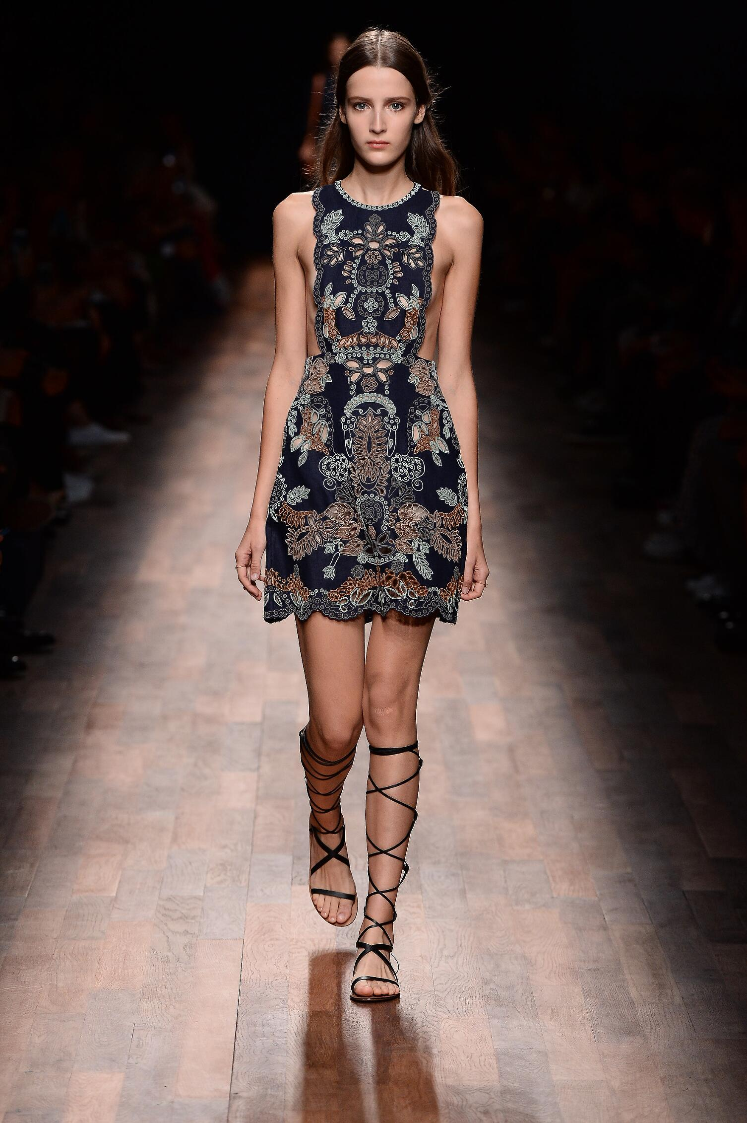 Summer Fashion Show In Year 2015 For Valentino s Spring Summer