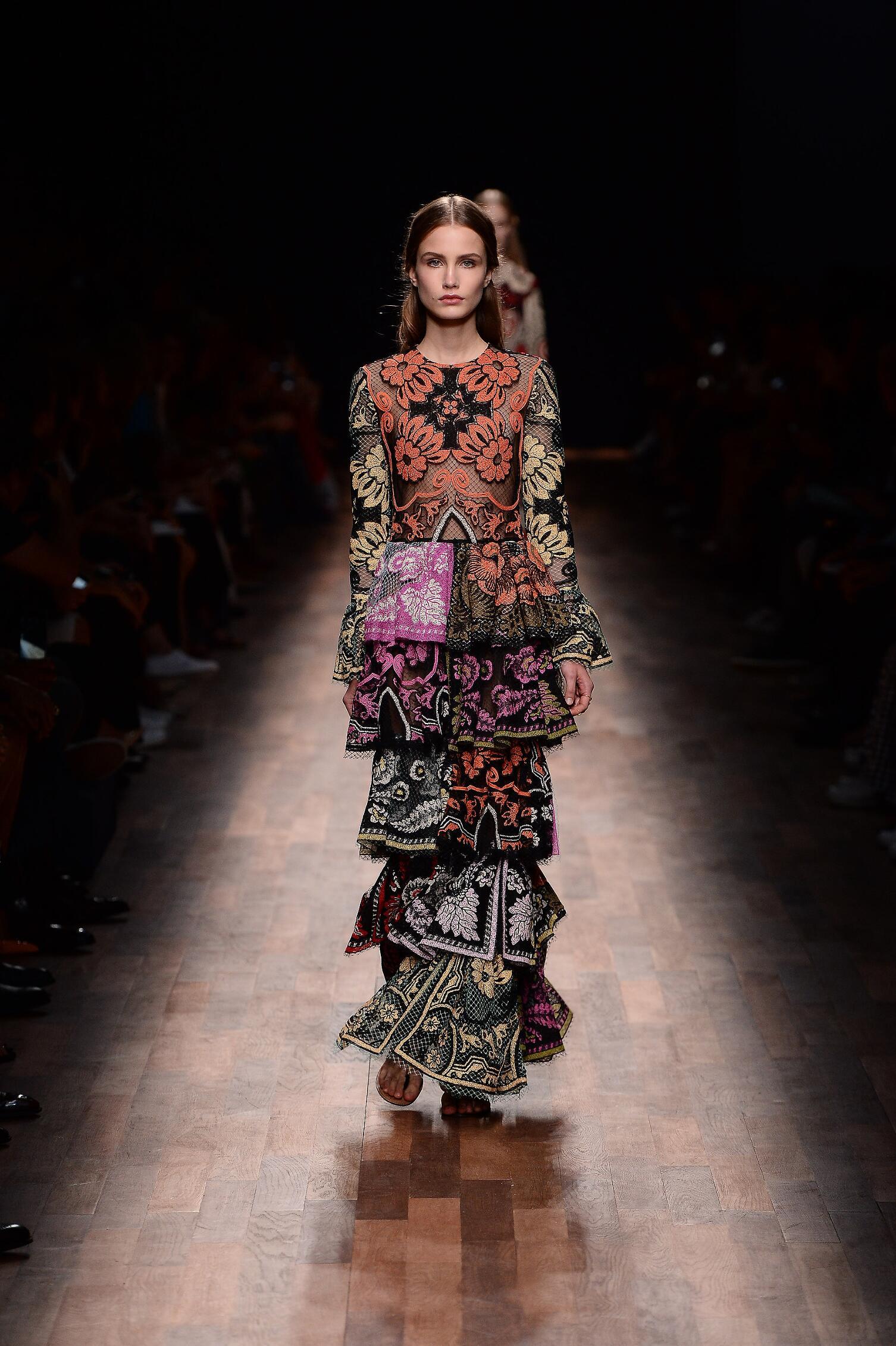 Valentino Fashion Show