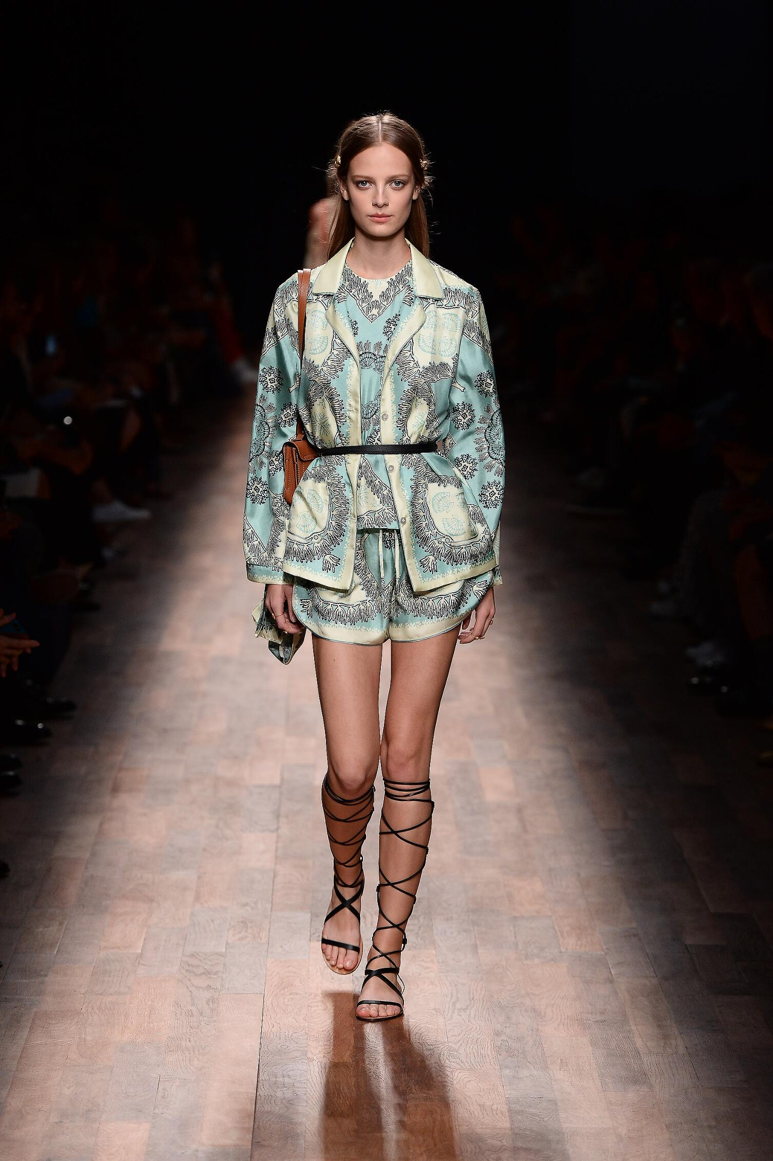 Valentino Spring 2015 Catwalk Paris