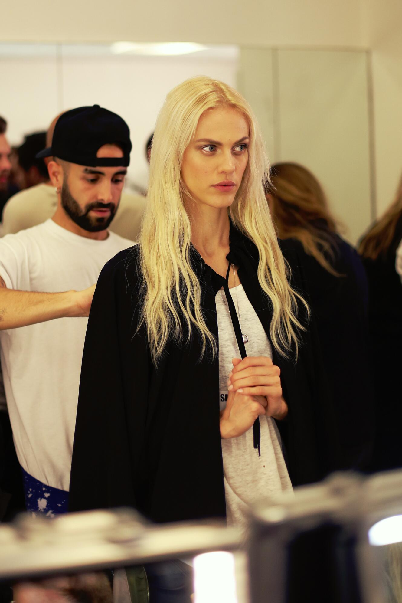 Woman Trends 2014 Backstage Jean Paul Gaultier Hair Style