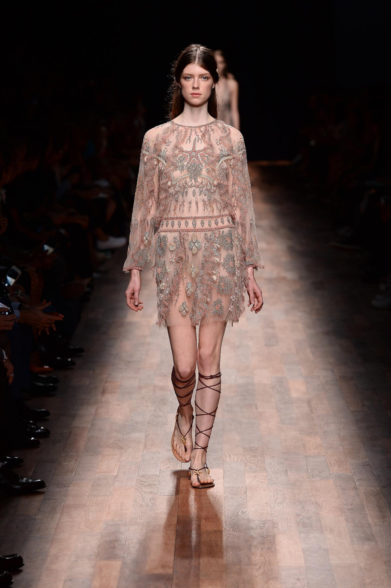 Womenswear Spring Summer Valentino 2015 Paris