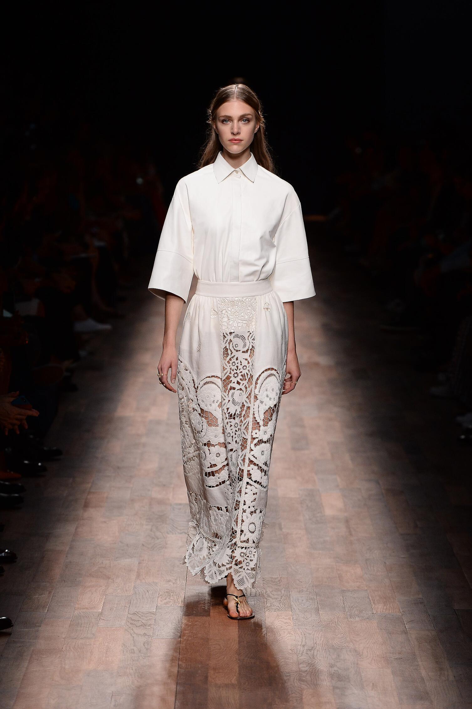 Womenswear Spring Summer Valentino 2015