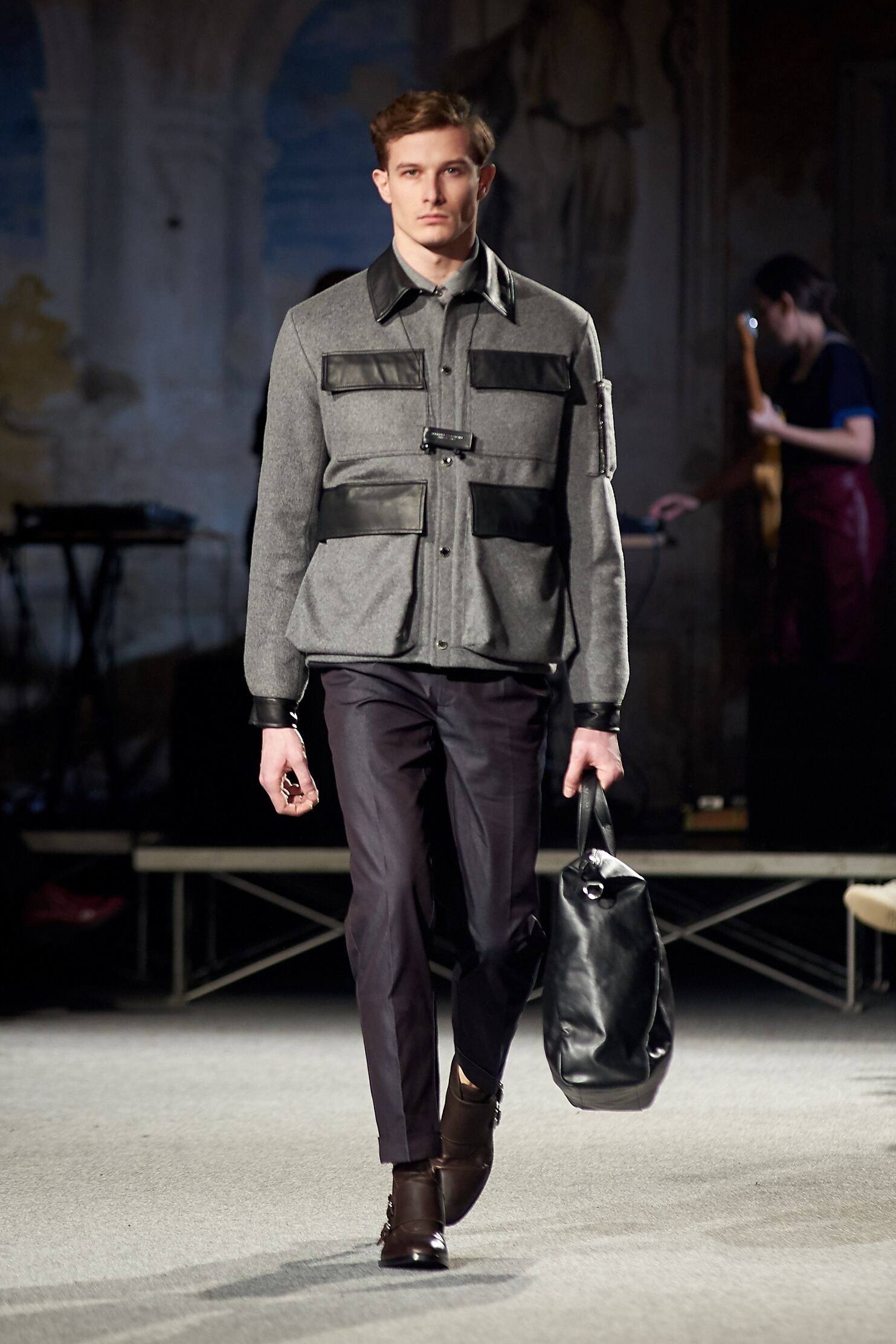 2015 Andrea Incontri Fall Catwalk