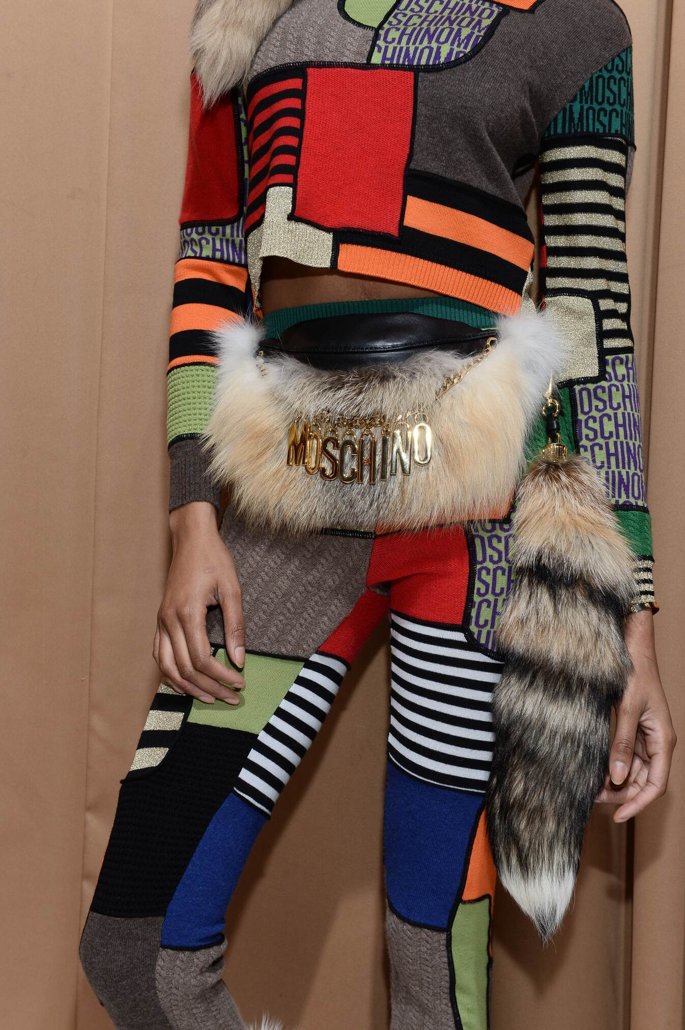 2015 Backstage Moschino Woman Trends