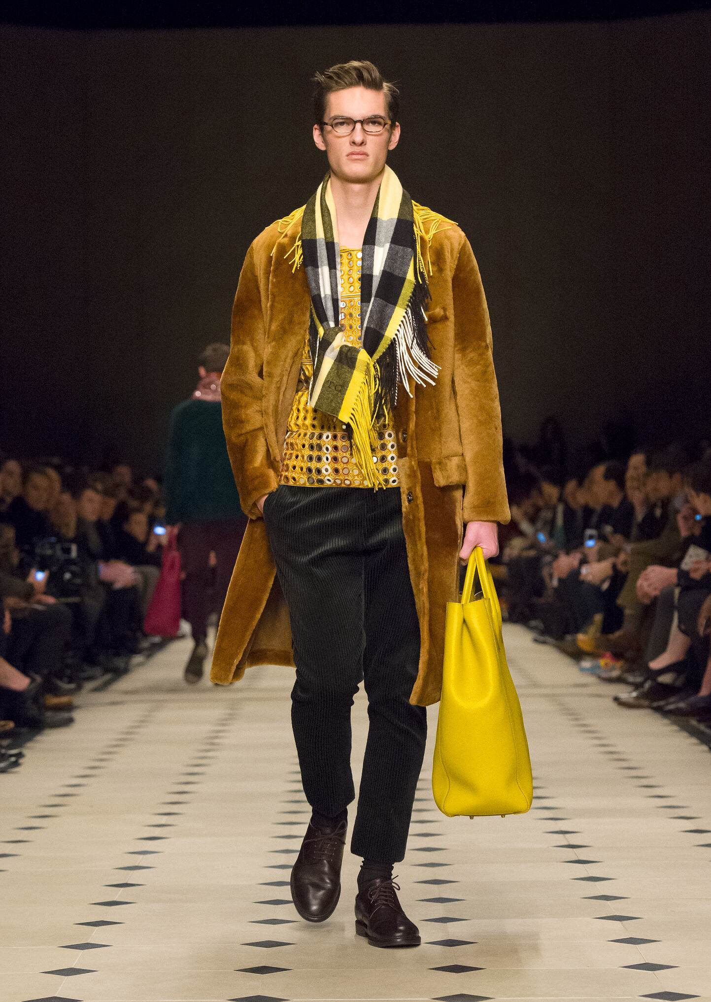 2015 Burberry Prorsum Winter Catwalk