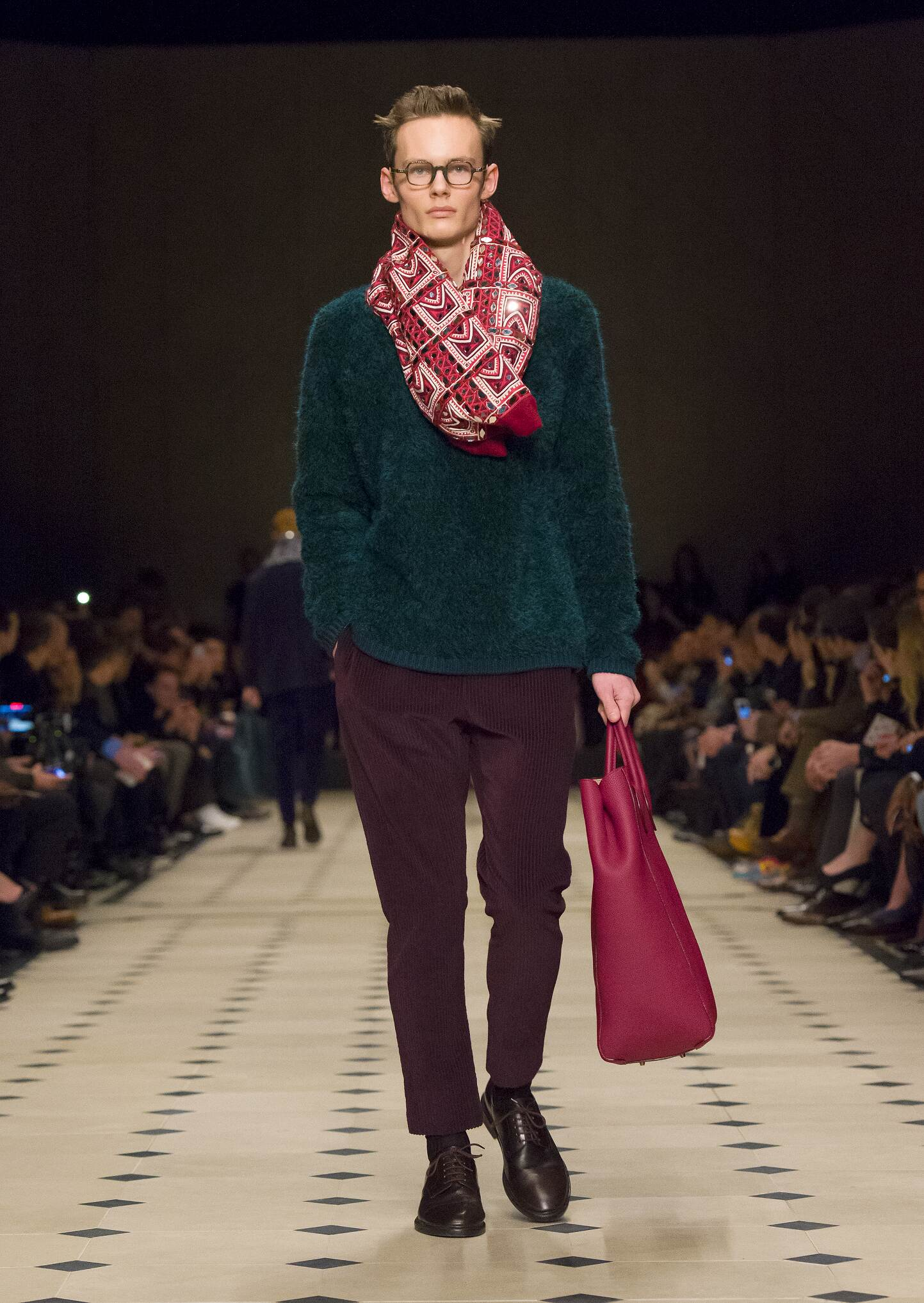 Burberry Fashion Show 2015 Men Catwalk Burberry Prorsum