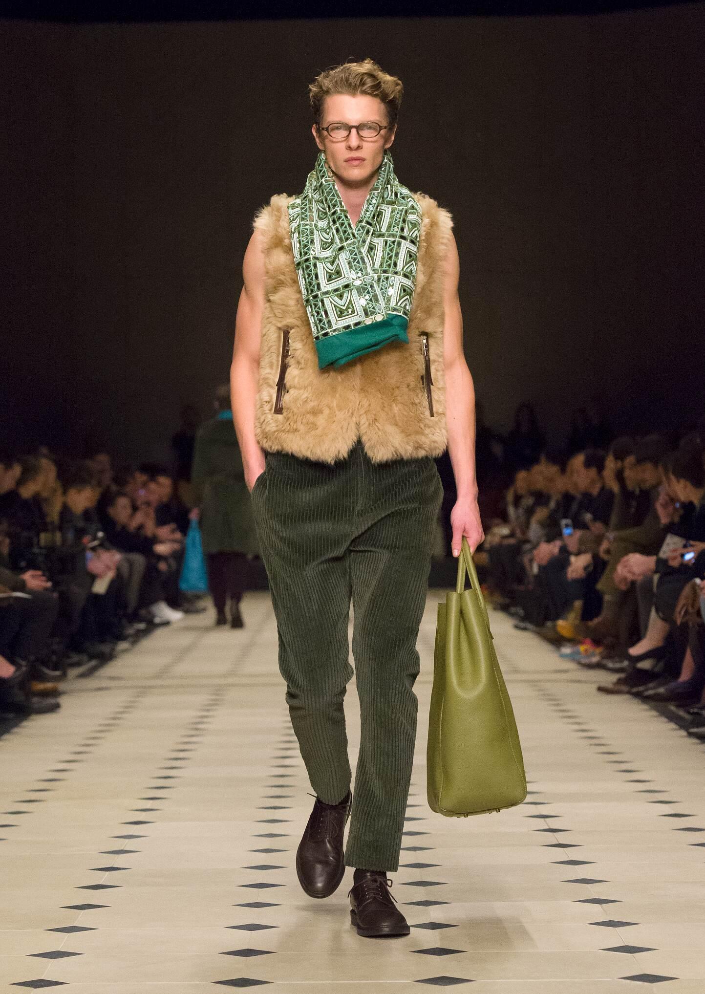 2015 Man Style Burberry Prorsum