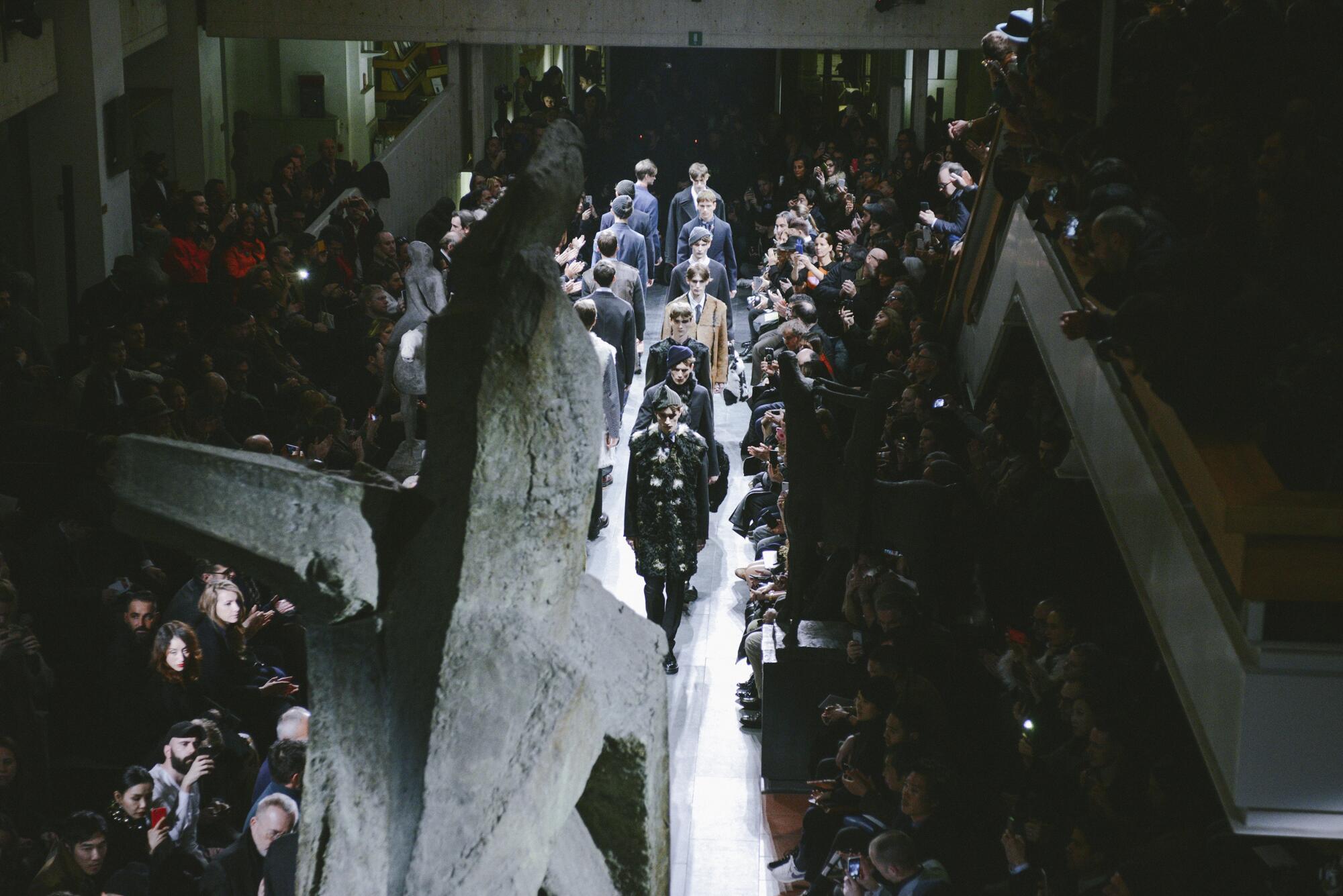 2015 Marni Catwalk Pitti Immagine