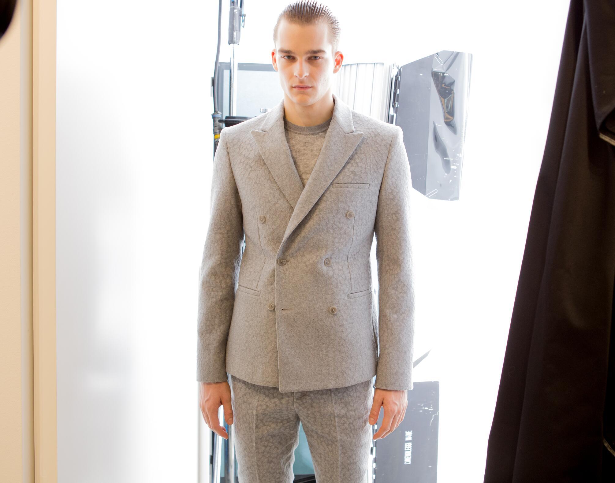 2015 Model Backstage Calvin Klein Collection