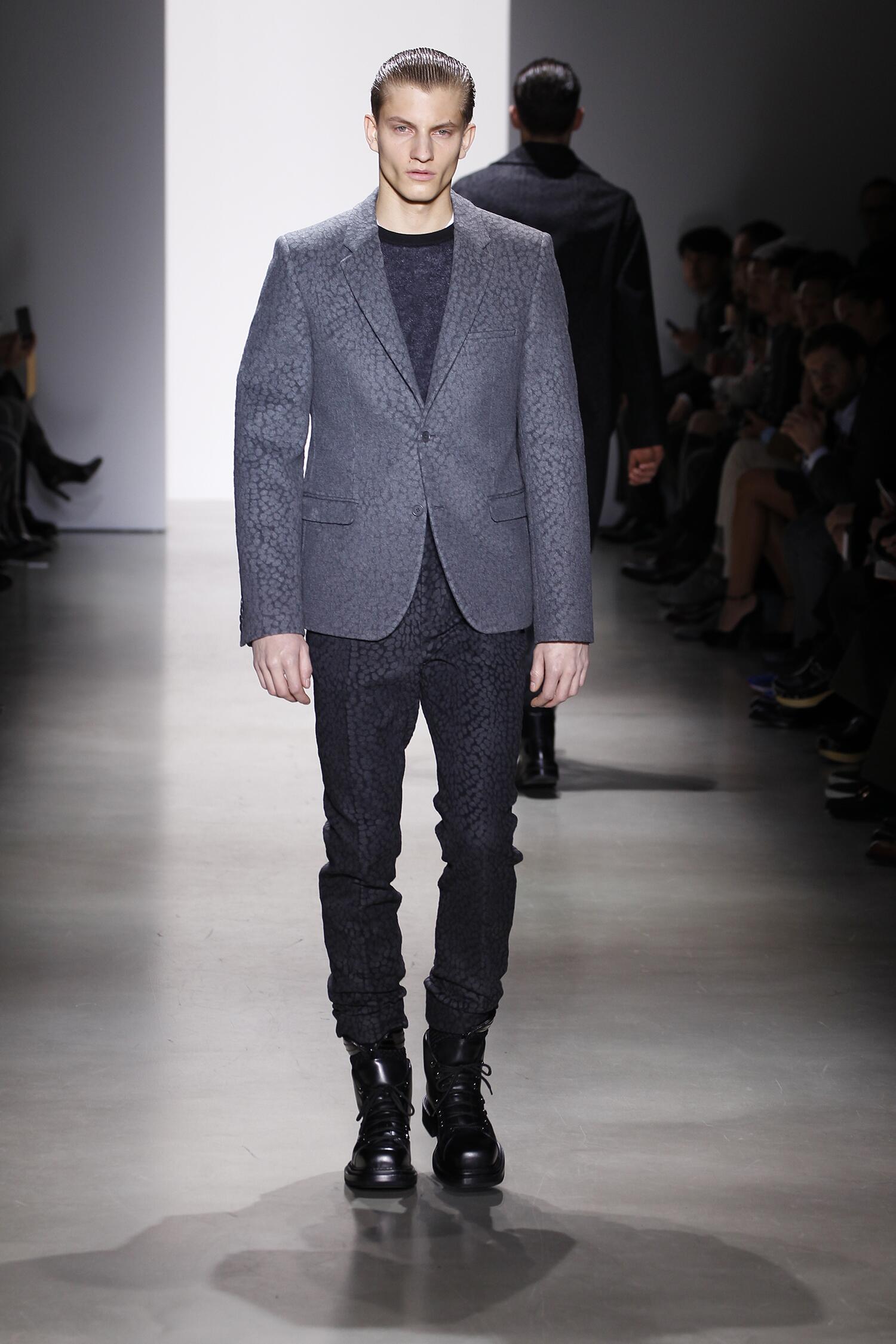 2016 Fall Fashion Man Calvin Klein Collection